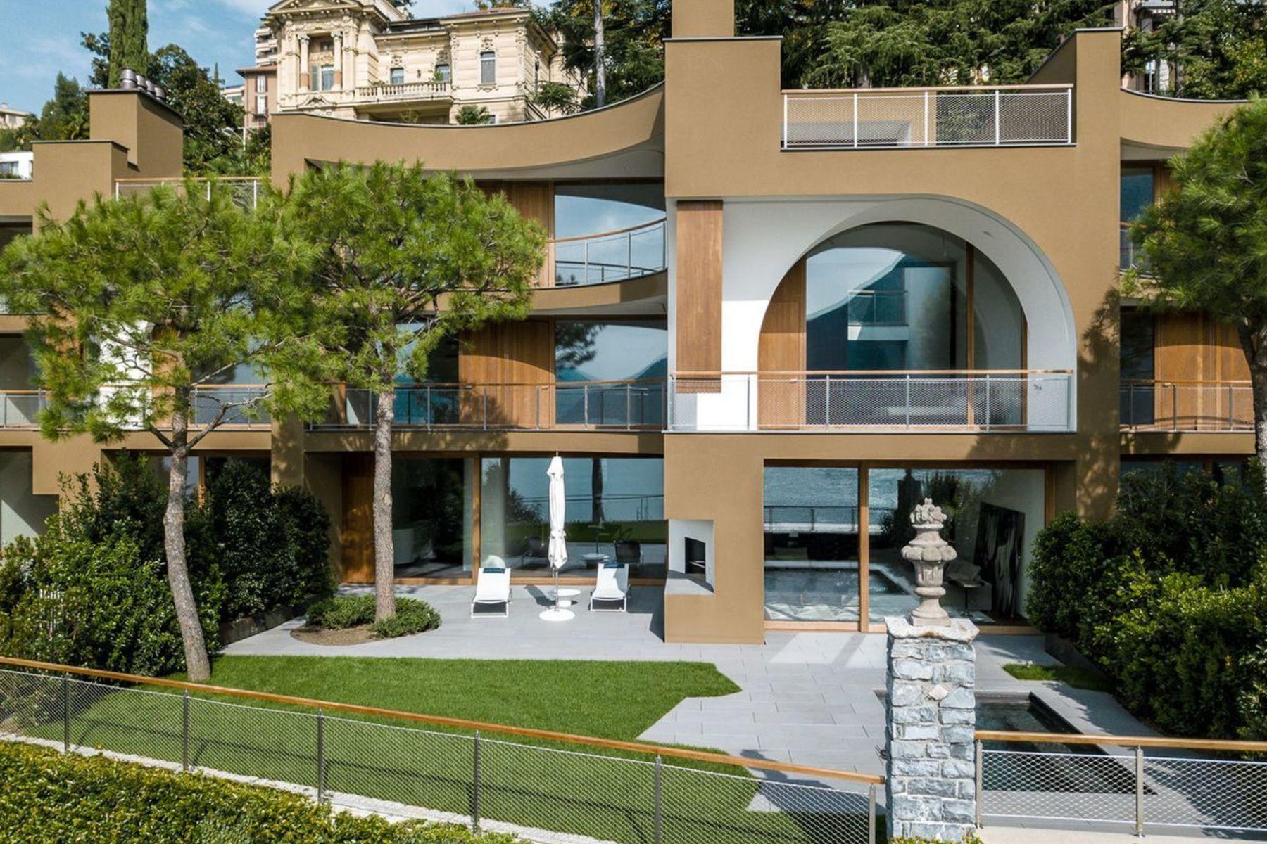 Single Family Homes pour l Vente à Archi di luce - by Herzog & de Meuron: villa 4 Lugano, Tessin 6900 Suisse