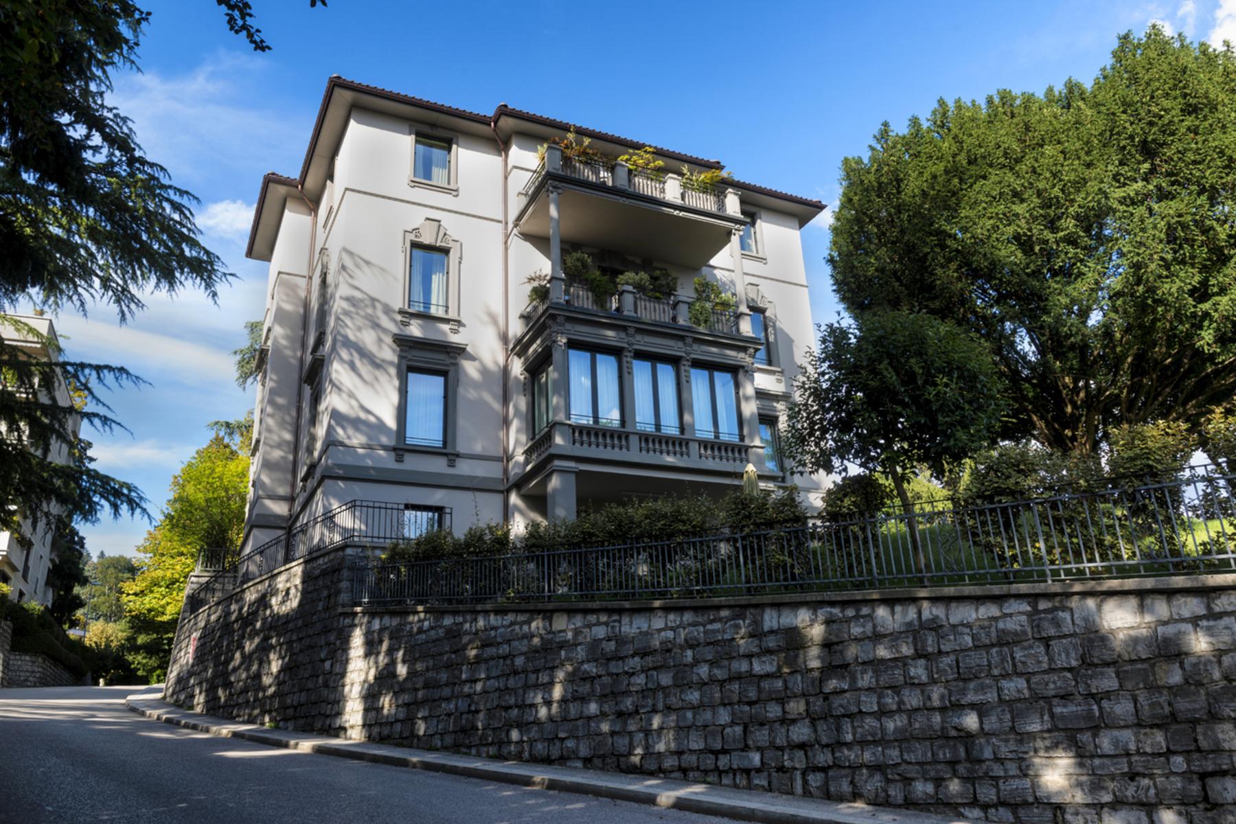 Appartement pour l à vendre à Luxury apartment in Villa Borghese Lugano, Lugano, Ticino, 6900 Suisse