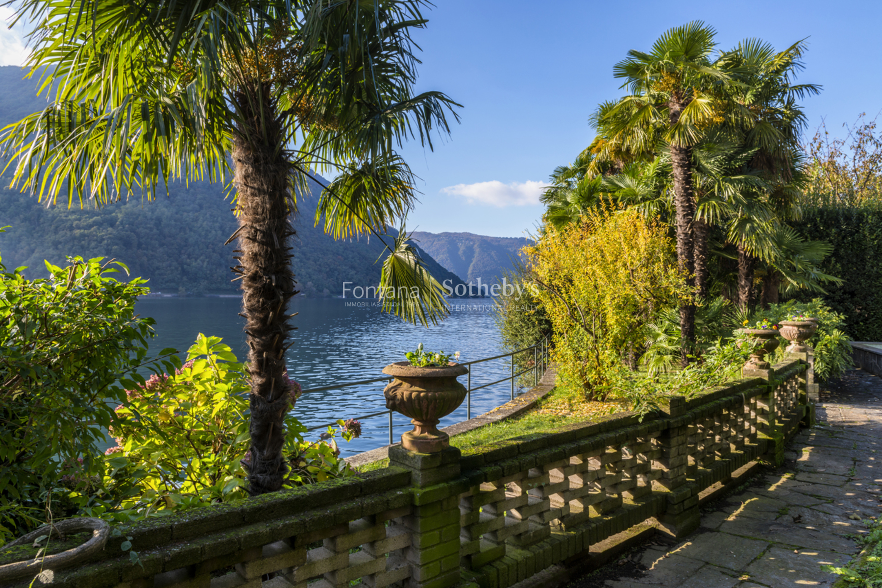 Single Family Home for Sale at Property on the lake with boathouse Melano Other Switzerland, Other Areas In Switzerland 6818 Switzerland