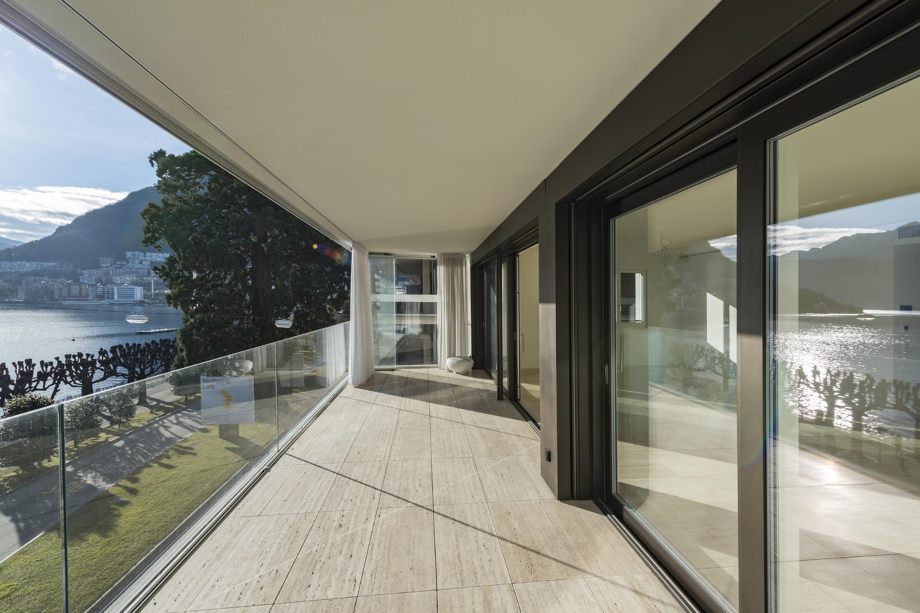 Appartement pour l à vendre à Residenza Riva Caccia: 3.5 room apartment Lugano, Lugano, Ticino, 6900 Suisse
