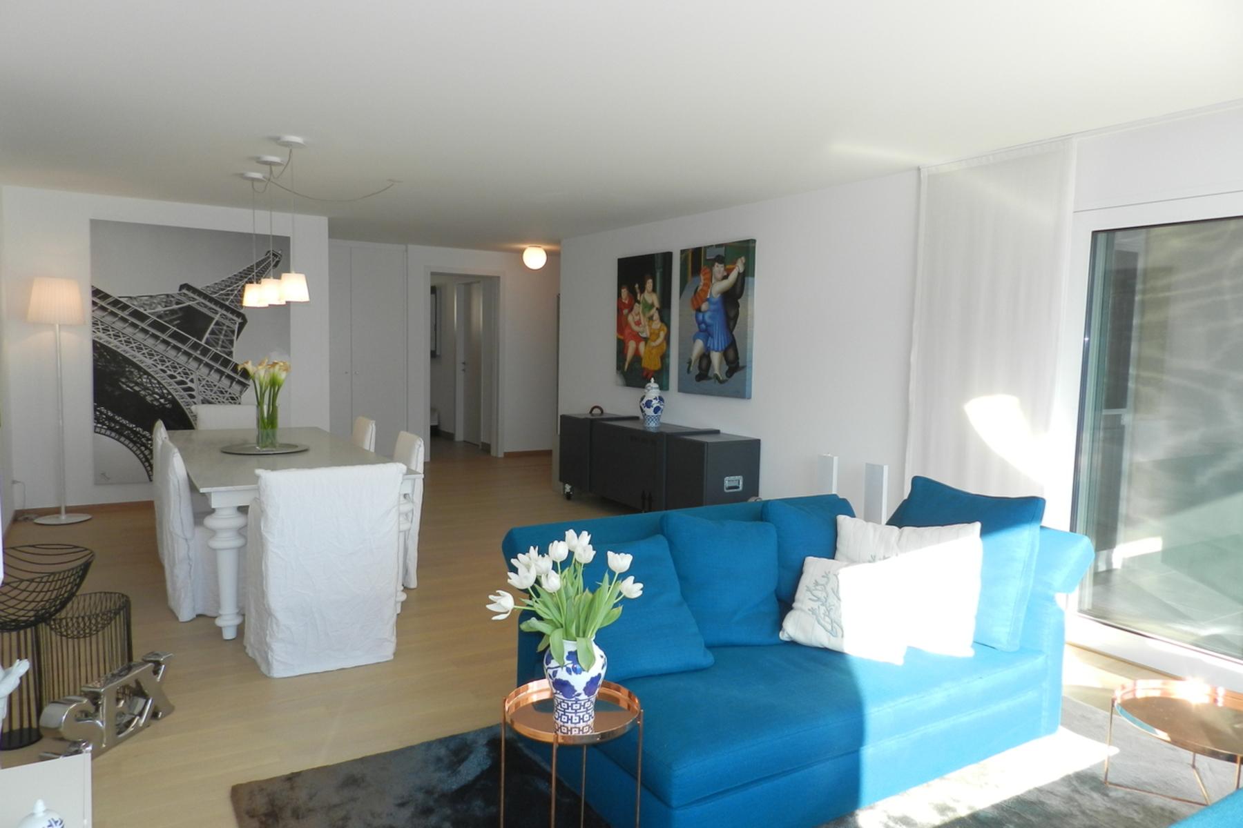 公寓 为 销售 在 Penthouse with breath-taking panorama Vico Morcote, Vico Morcote, 提契诺, 6921 瑞士