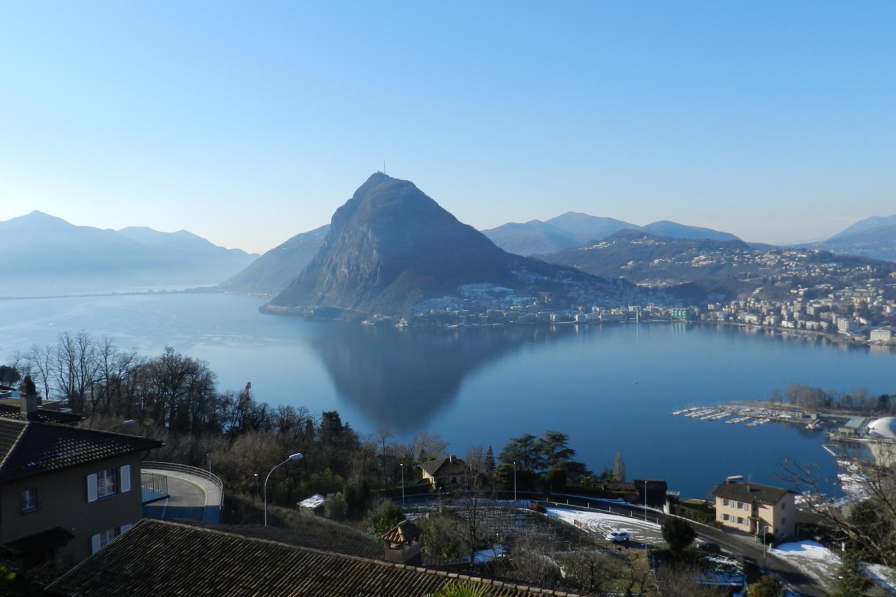 Terreno para Venda às Building plot with lake view Lugano, Aldesago, Ticino, 6974 Suíça