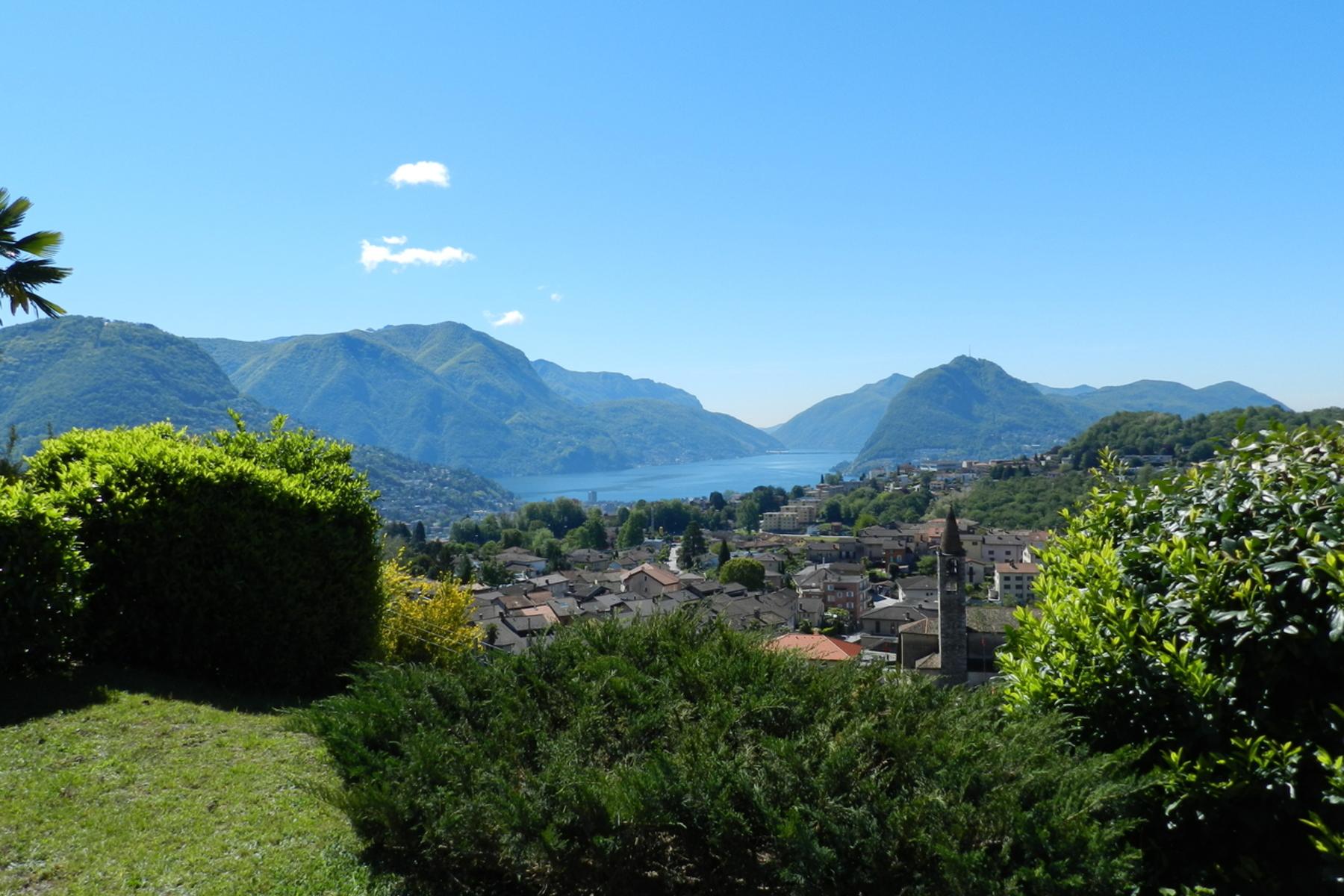 واحد منزل الأسرة للـ Sale في Villa with developments opportunities Comano, Comano, Ticino, 6949 Switzerland