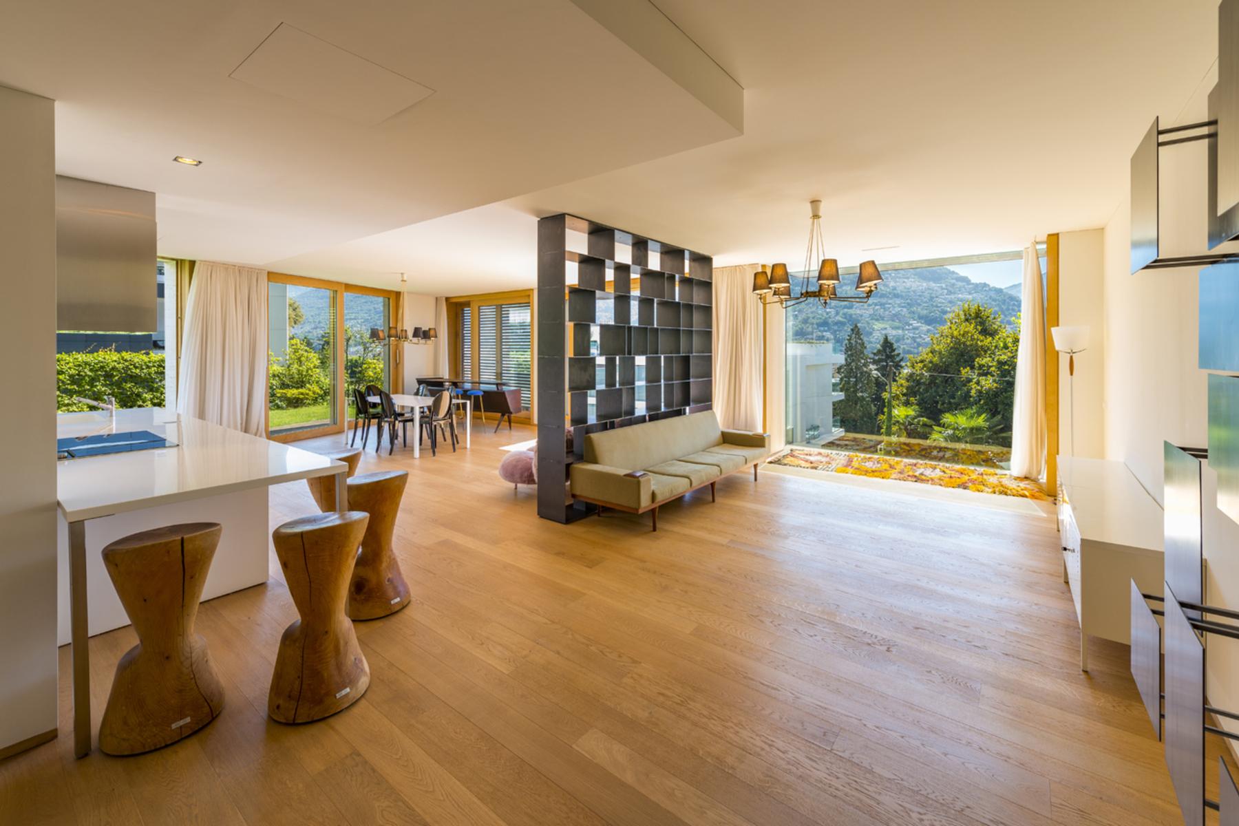 Apartments por un Venta en Apartment in the design-residence Lomocubes Massagno Massagno, Tesino 6908 Suiza