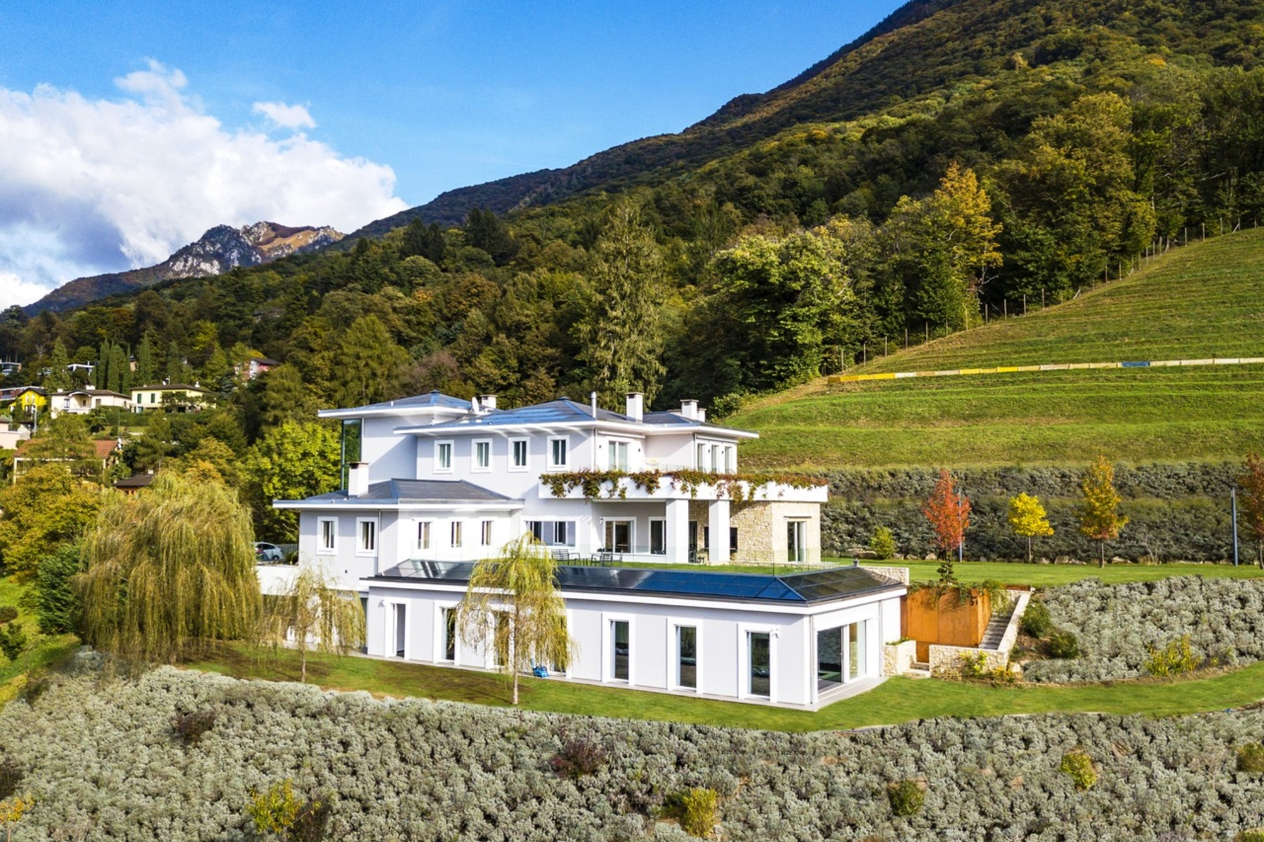 Single Family Homes for Sale at Luxury Villa with 15-acres of private land Lugano Lugano, Ticino 6900 Switzerland
