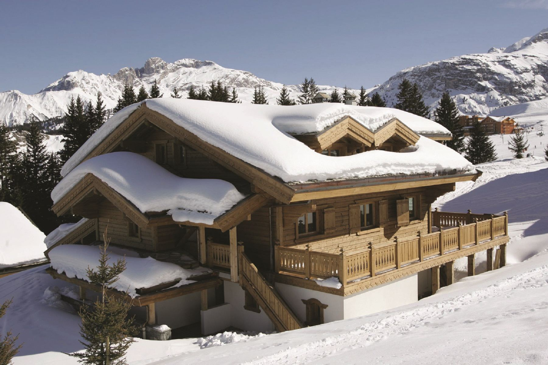 Villa per Affitto alle ore For rent in Courchevel Chalet Rosa Courchevel, Rodano-Alpi, 73120 Francia
