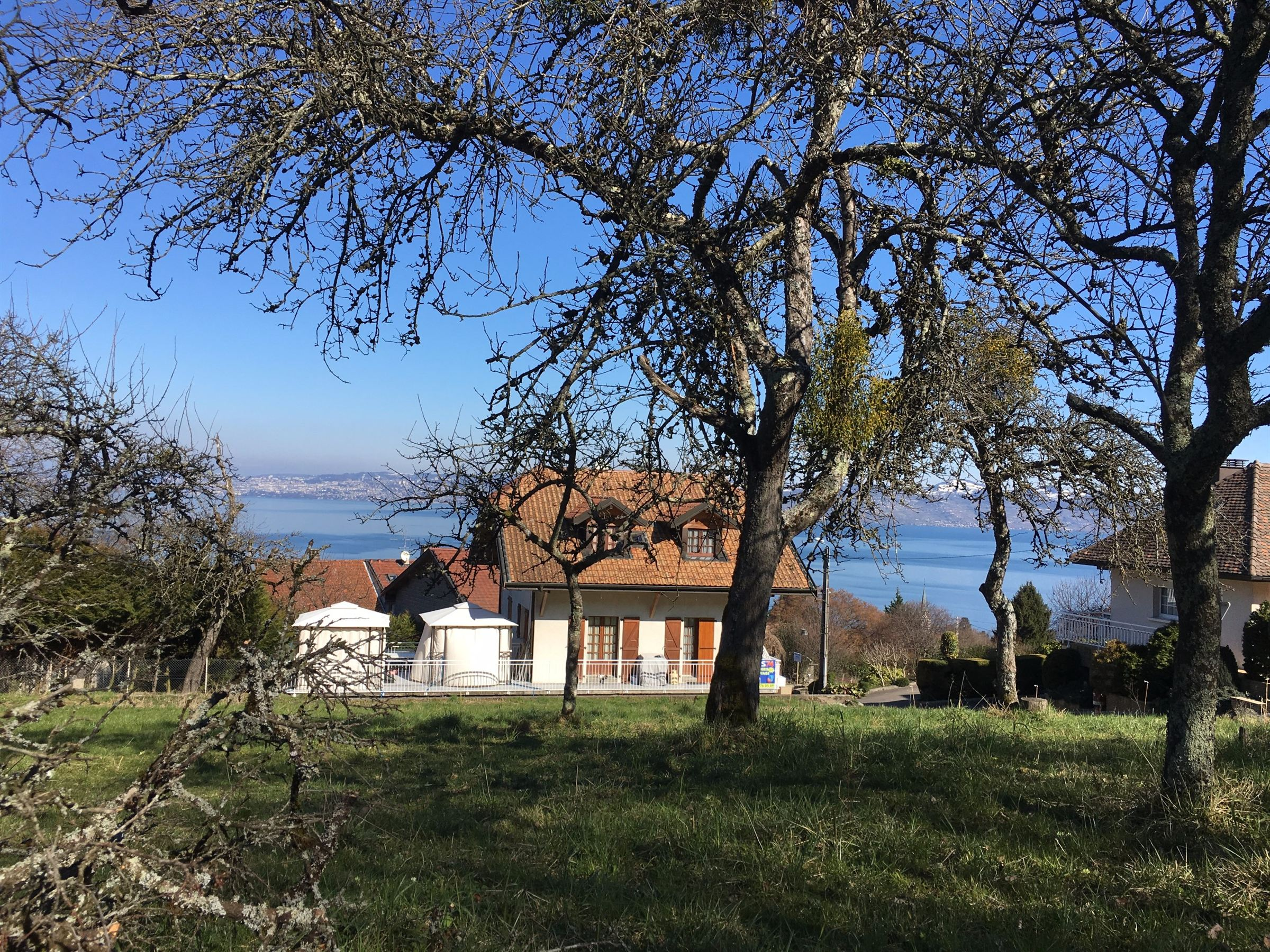 Land for Sale at NEAR EVIAN : LUGRIN PLOT of 898 m2 Lugrin, Rhone-Alpes, 74500 France