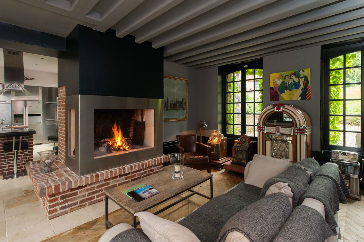 Property For Sale at Honfleur, Charming ambiance and calm in city-center.