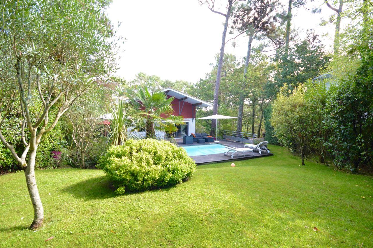 sales property at PYLA SUR MER - STUNNING ARCHITECT VILLA NEARD FOREST AND THE PYLA DUNE