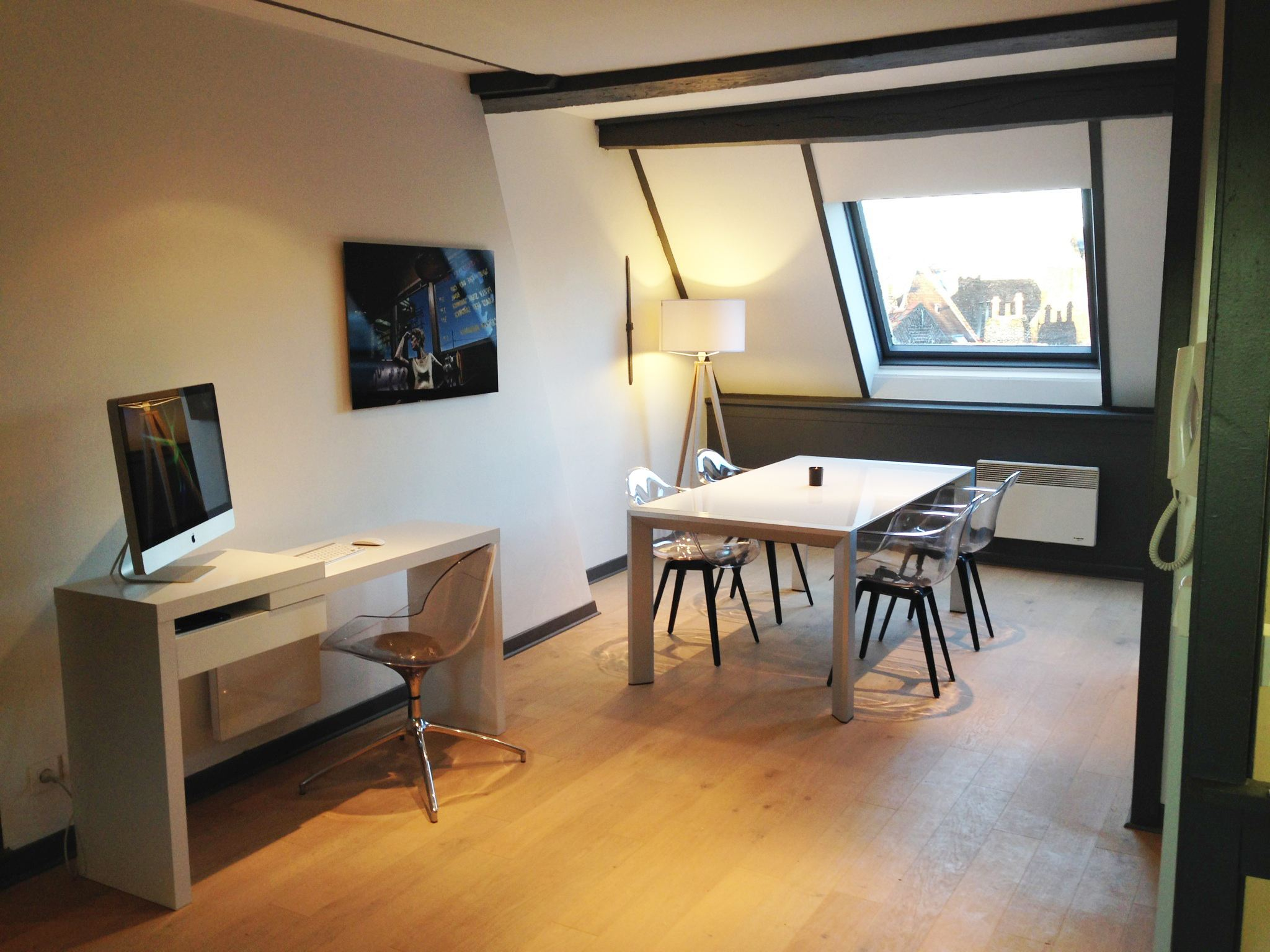 rentals property at VIEUX-LILLE, 100m from the Grand' Place, 65sqm furnished flat.