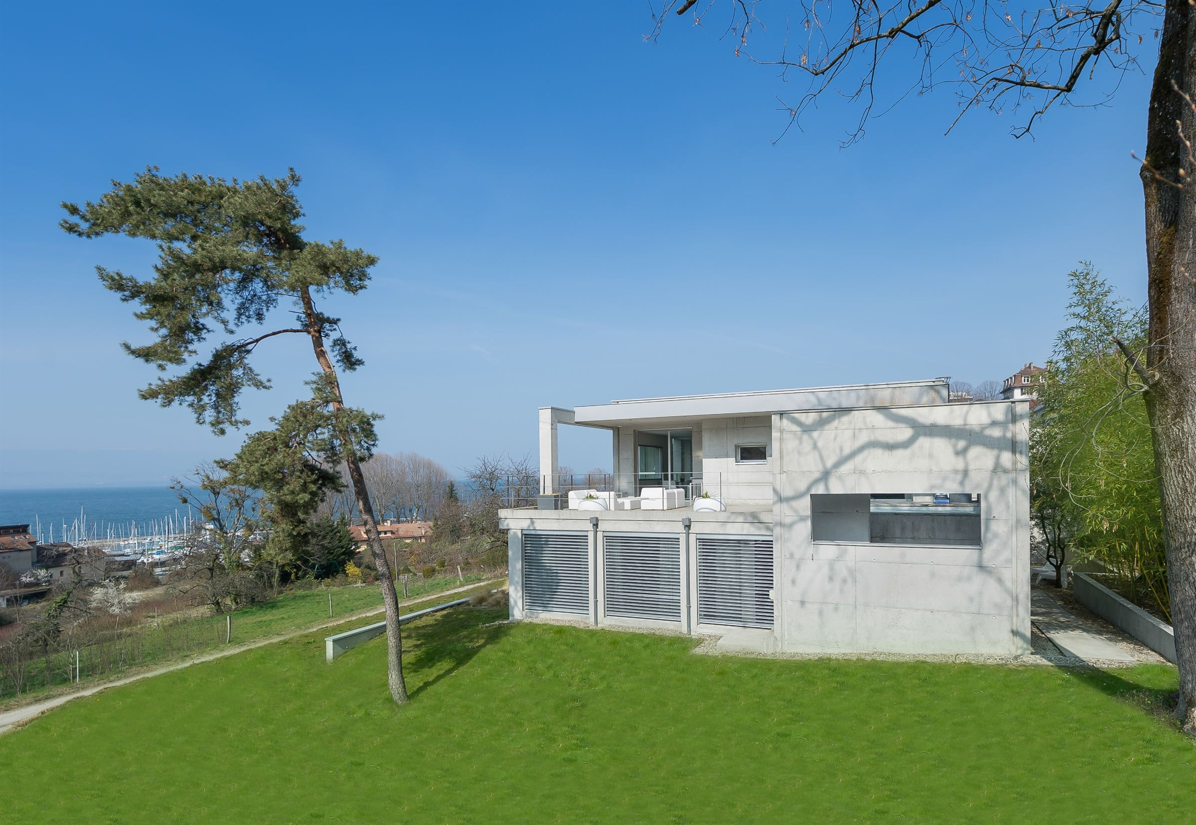 sales property at THONON MODERN VILLA WITH VIEW ON THE LAKE