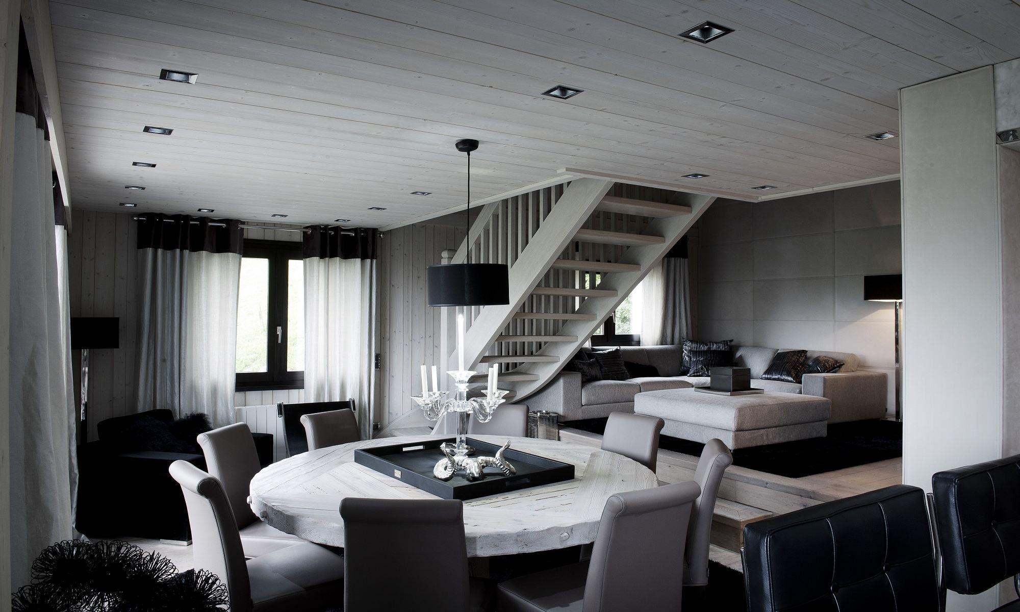 Property For Sale at Megève Jaillet Chalet Flocon