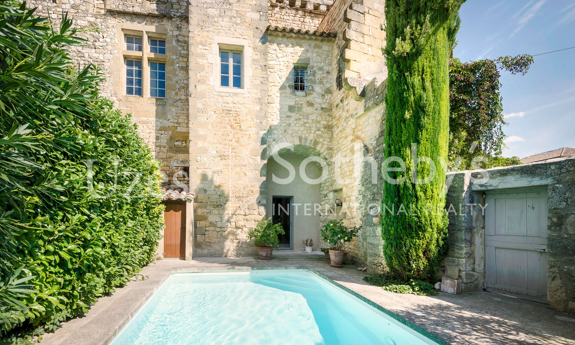 sales property at UZES - LUXURY PROPERTY OF THE XIIth CENTURY