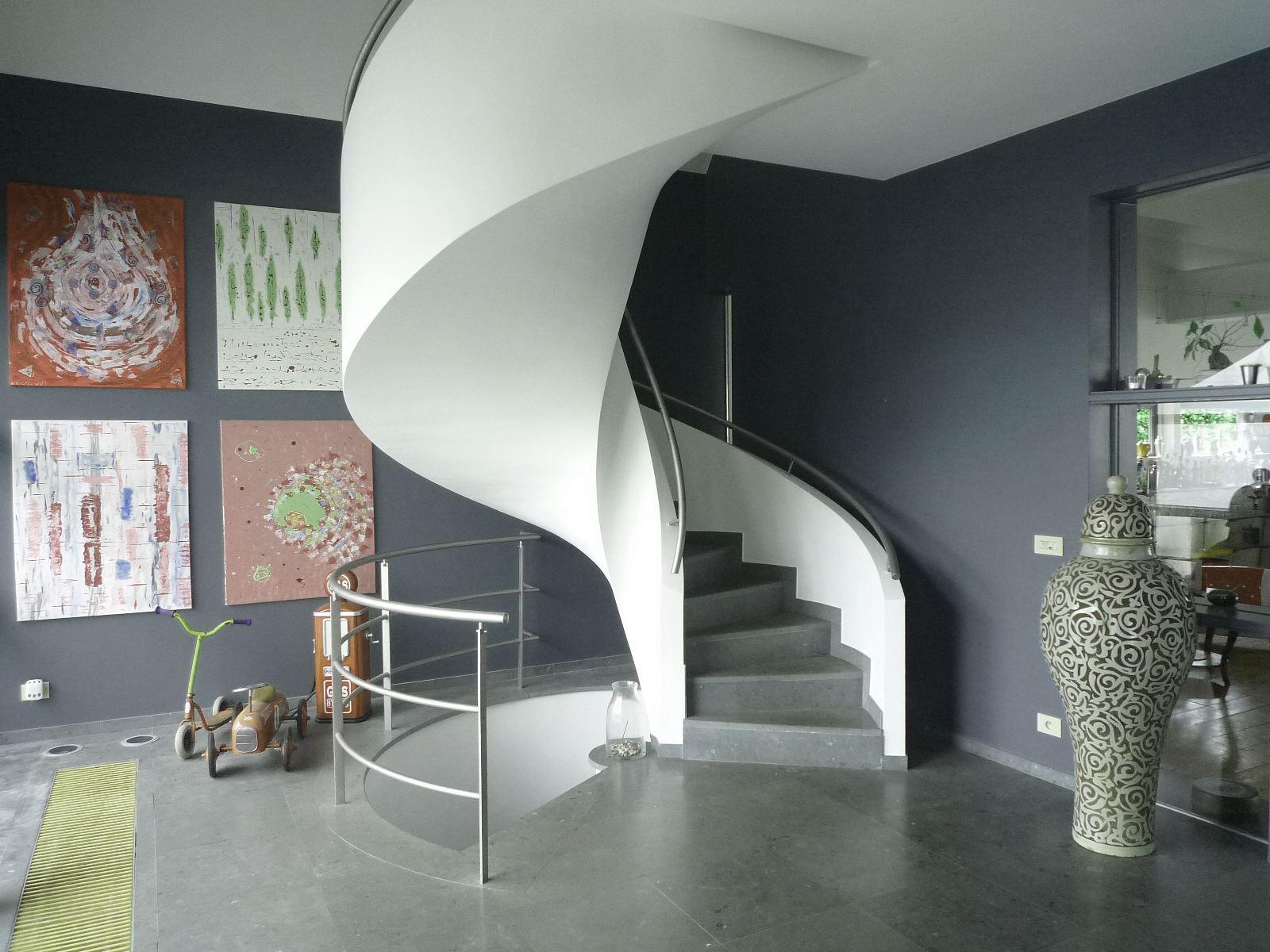 sales property at Kortrijk residential cubic Villa 400m2 habitable.