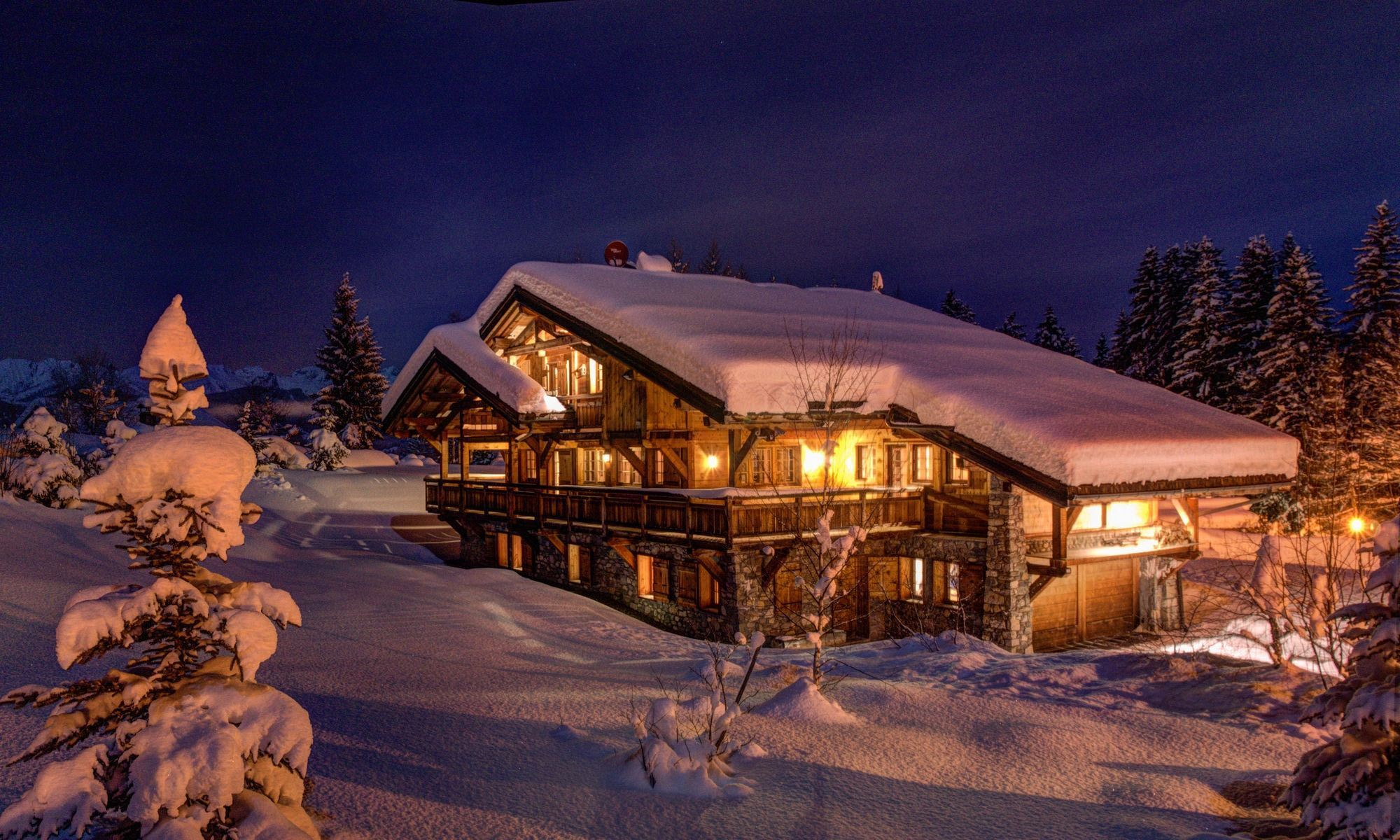 Single Family Home for Sale at Megève Côte 2000 Chalet Linda Megeve, Rhone-Alpes 74120 France