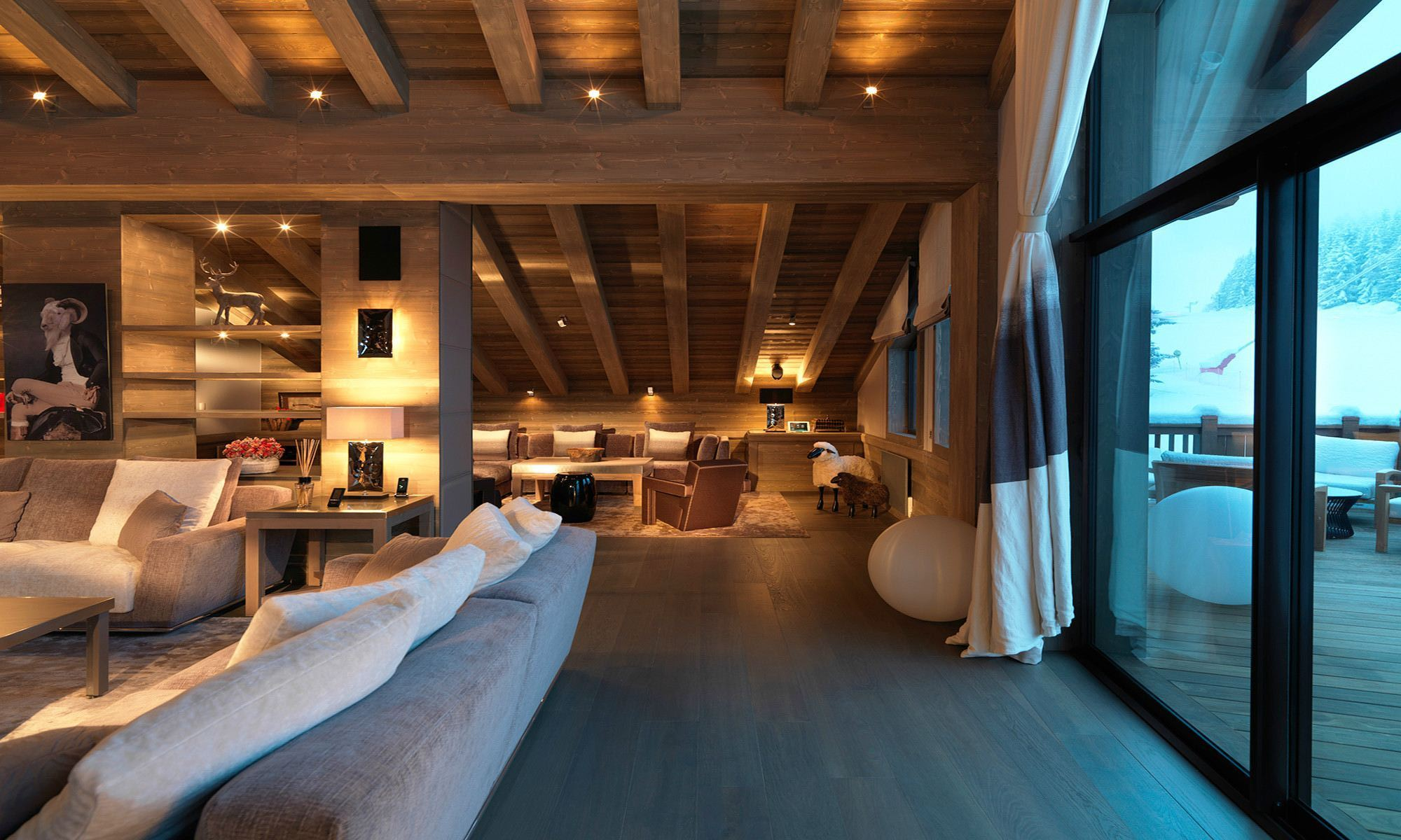 Villa per Affitto alle ore Luxury Chalet in Courchevel La Bergerie Courchevel, Rodano-Alpi, 73120 Francia