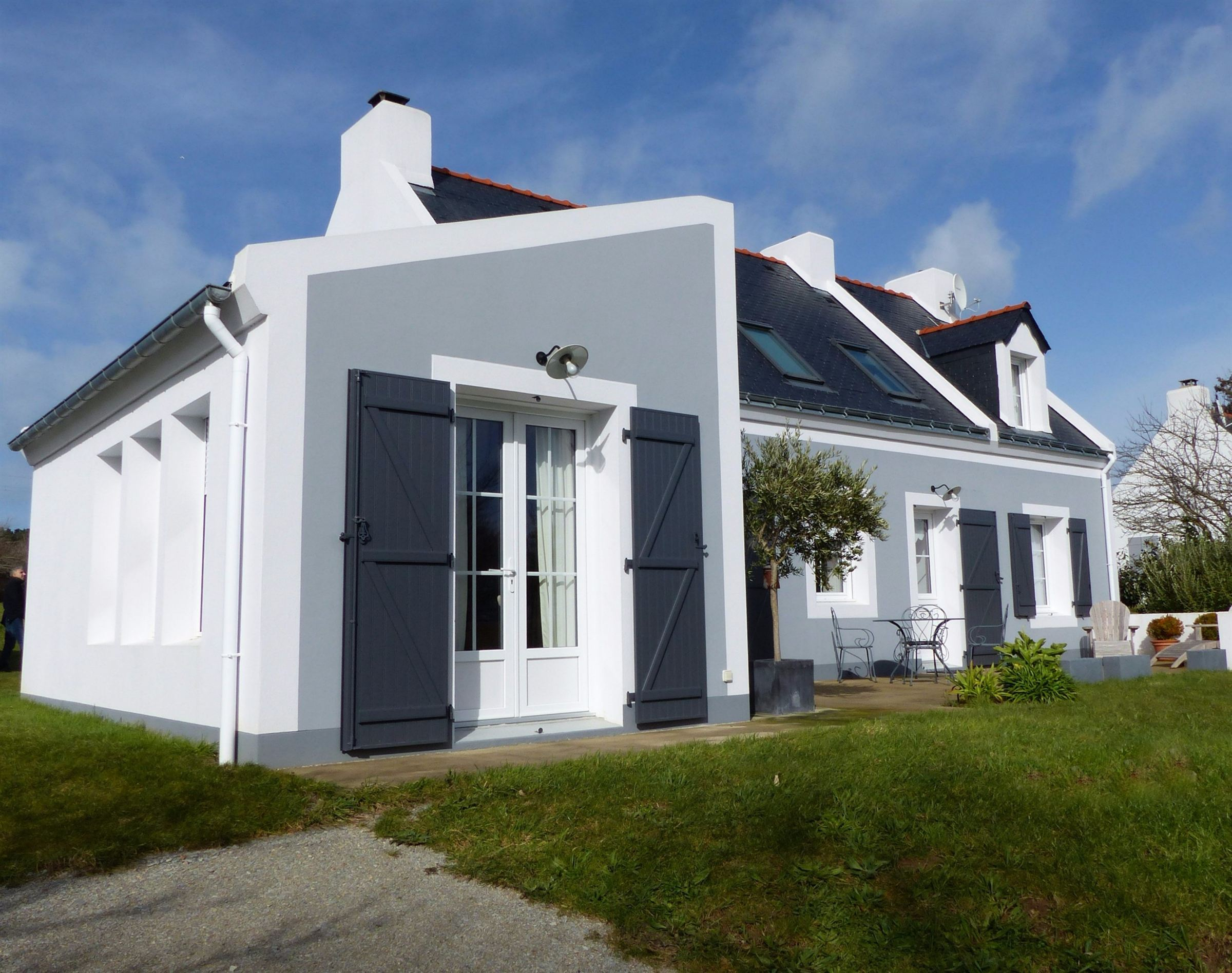 sales property at South Brittany, Belle-Ile, lovely contemporary house...