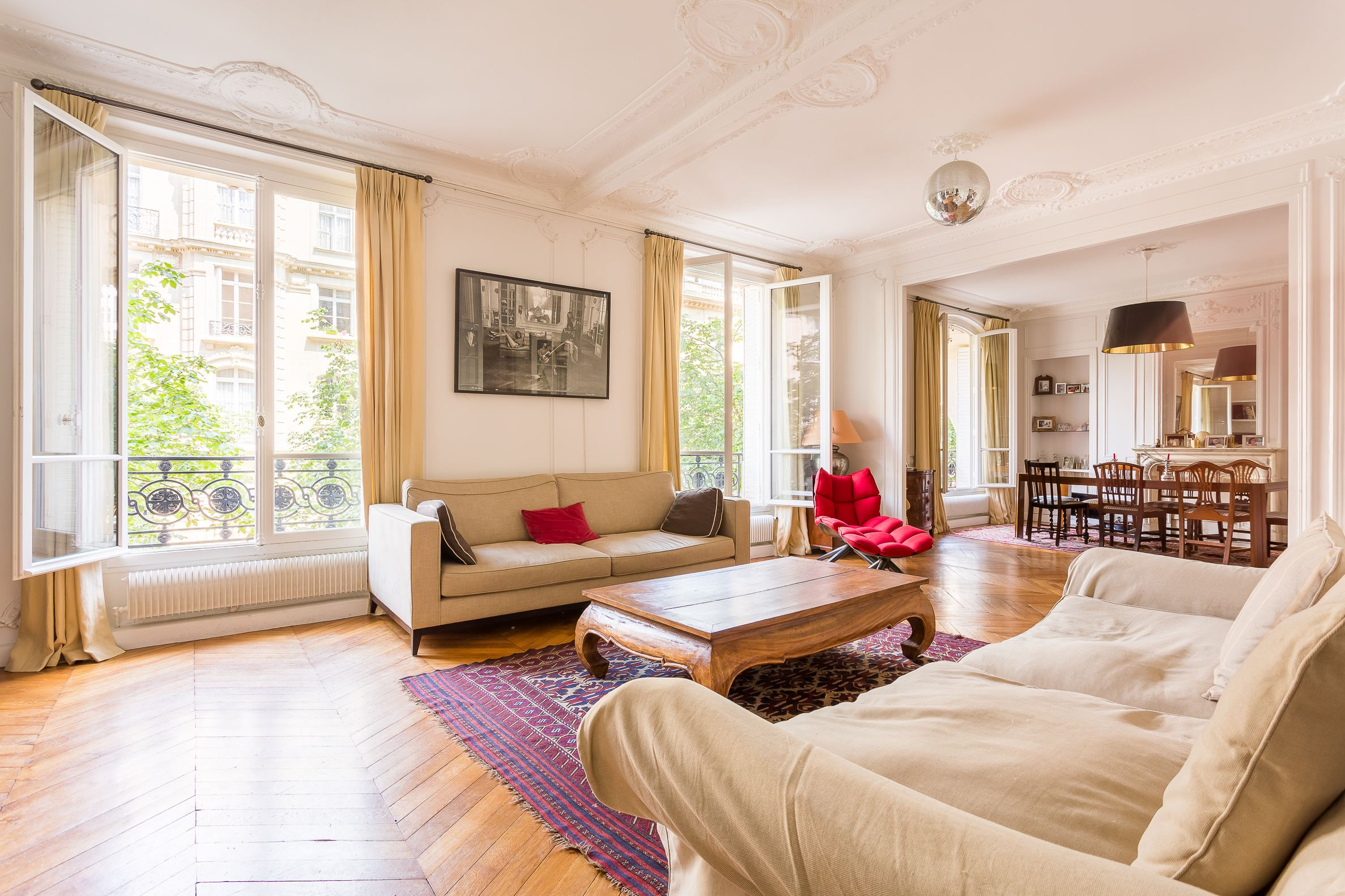 sales property at Champ de Mars - Elegant haussmannian apartment