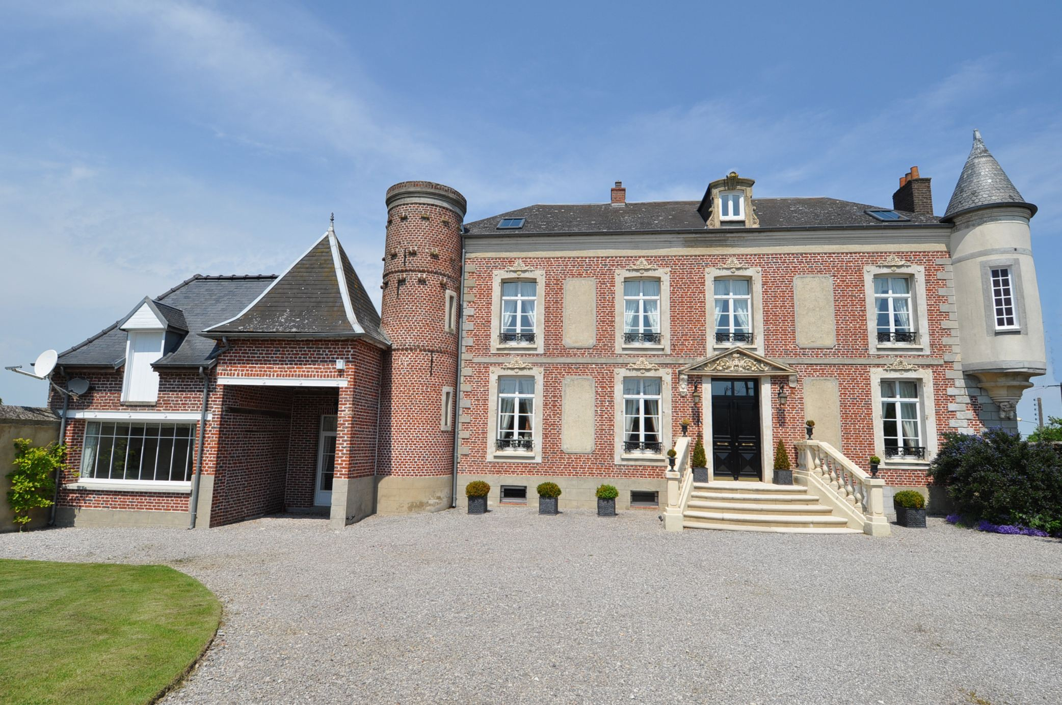 Property For Sale at HARDELOT at 40 kms, beautiful XIXth Manor renovated, 565 m2, 6 bedrooms