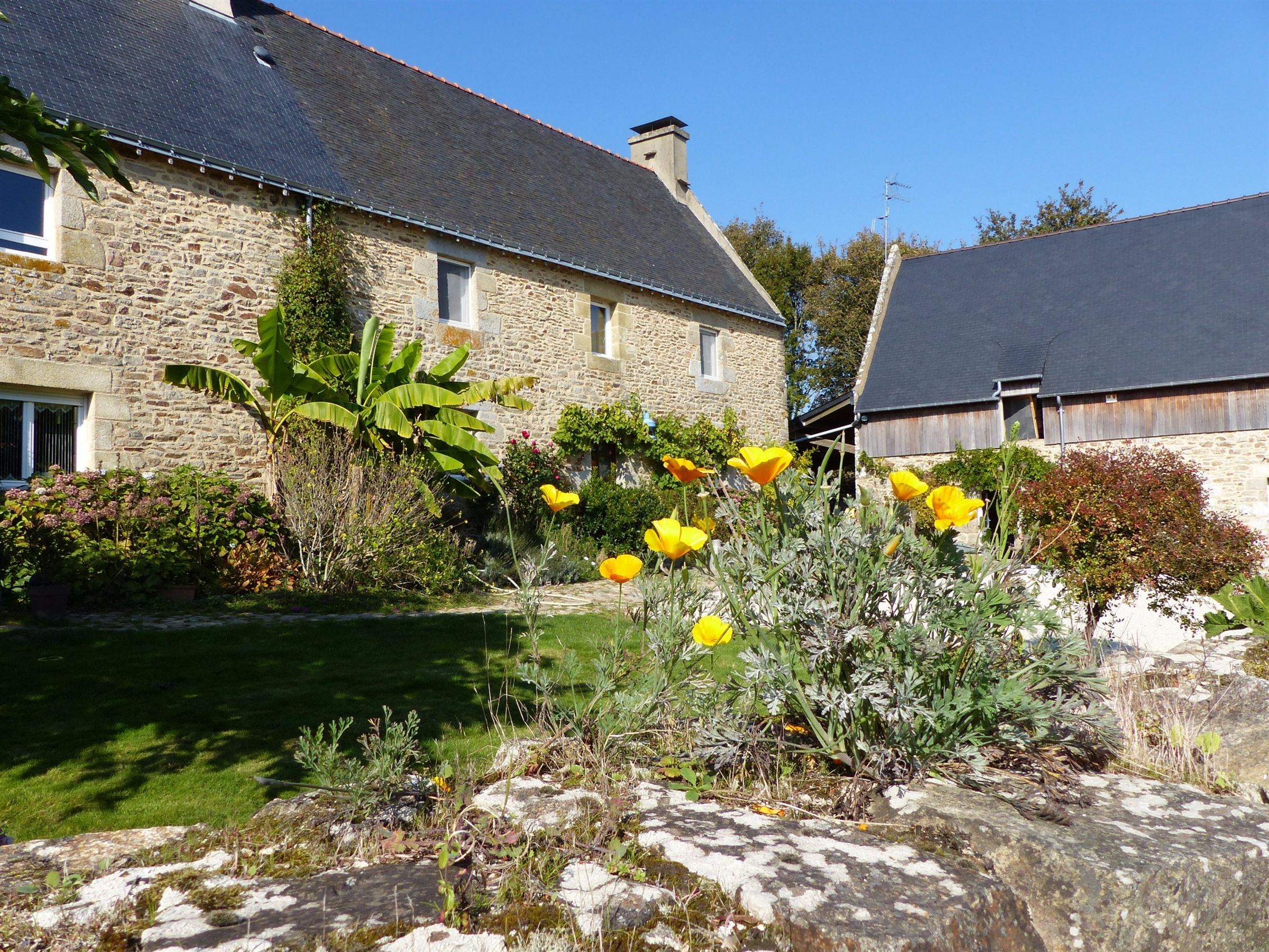 sales property at South Brittany, Ria d'Etel, lovely restored and spacious farmhouse...