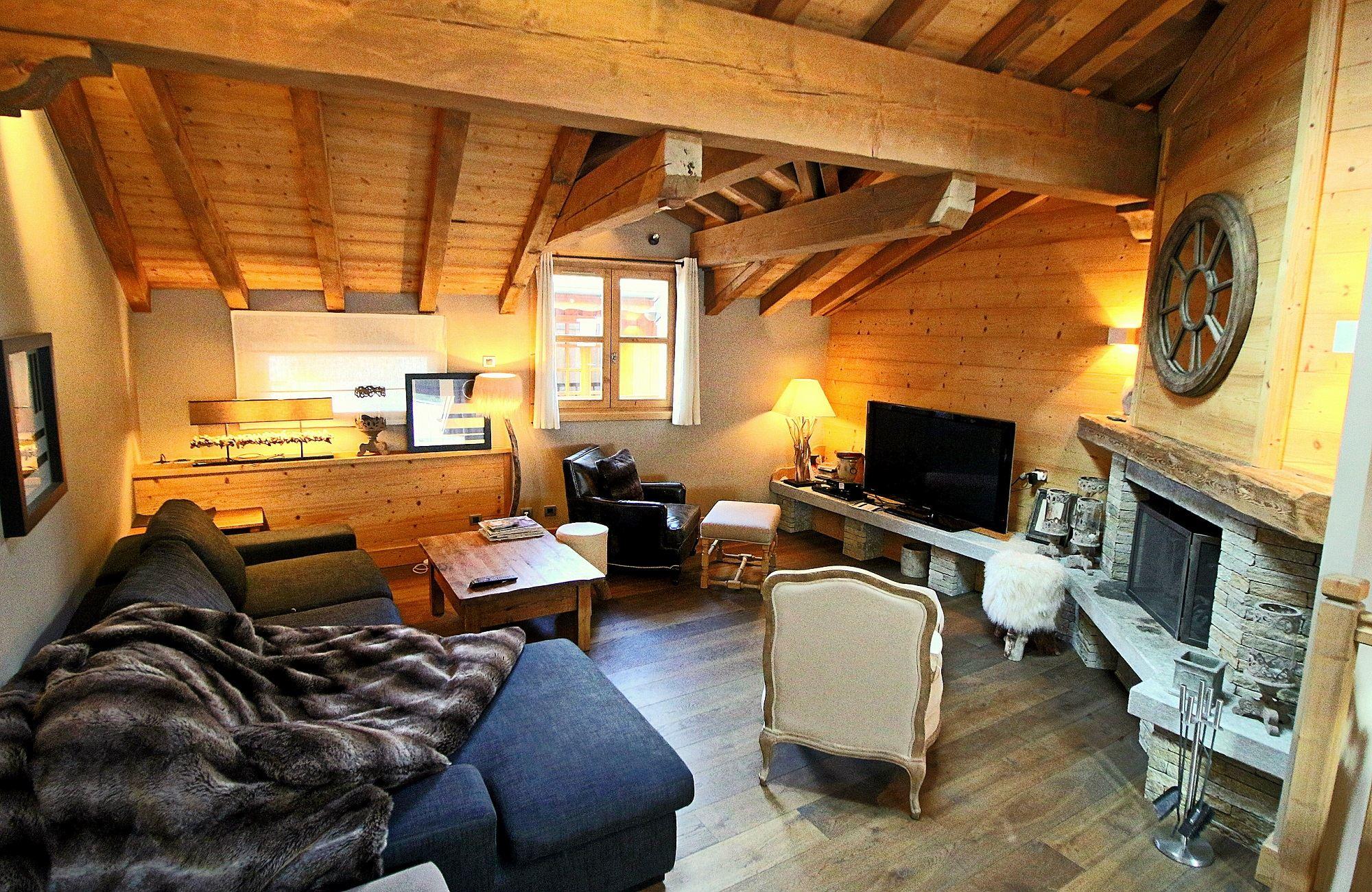 Adosado por un Venta en Village house Chalet Le Praz Courchevel Courchevel, Ródano-Alpes, 73120 Francia