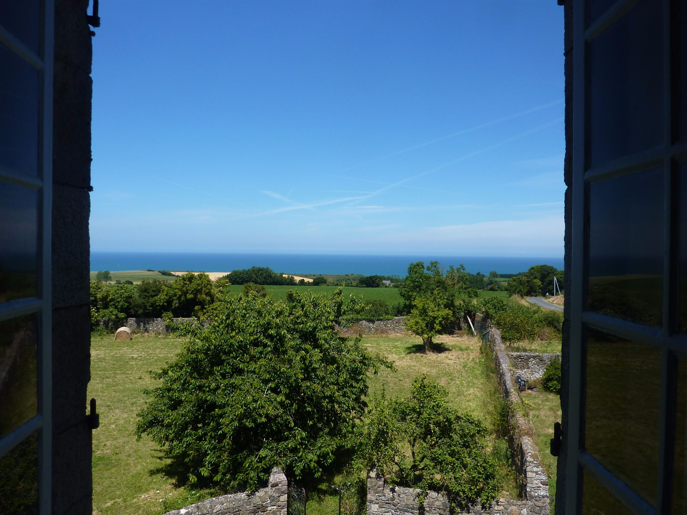 Single Family Home for Sale at Castle with sea view, caretakers house set on 5 acres near Val André Other Brittany, Brittany, 22000 France
