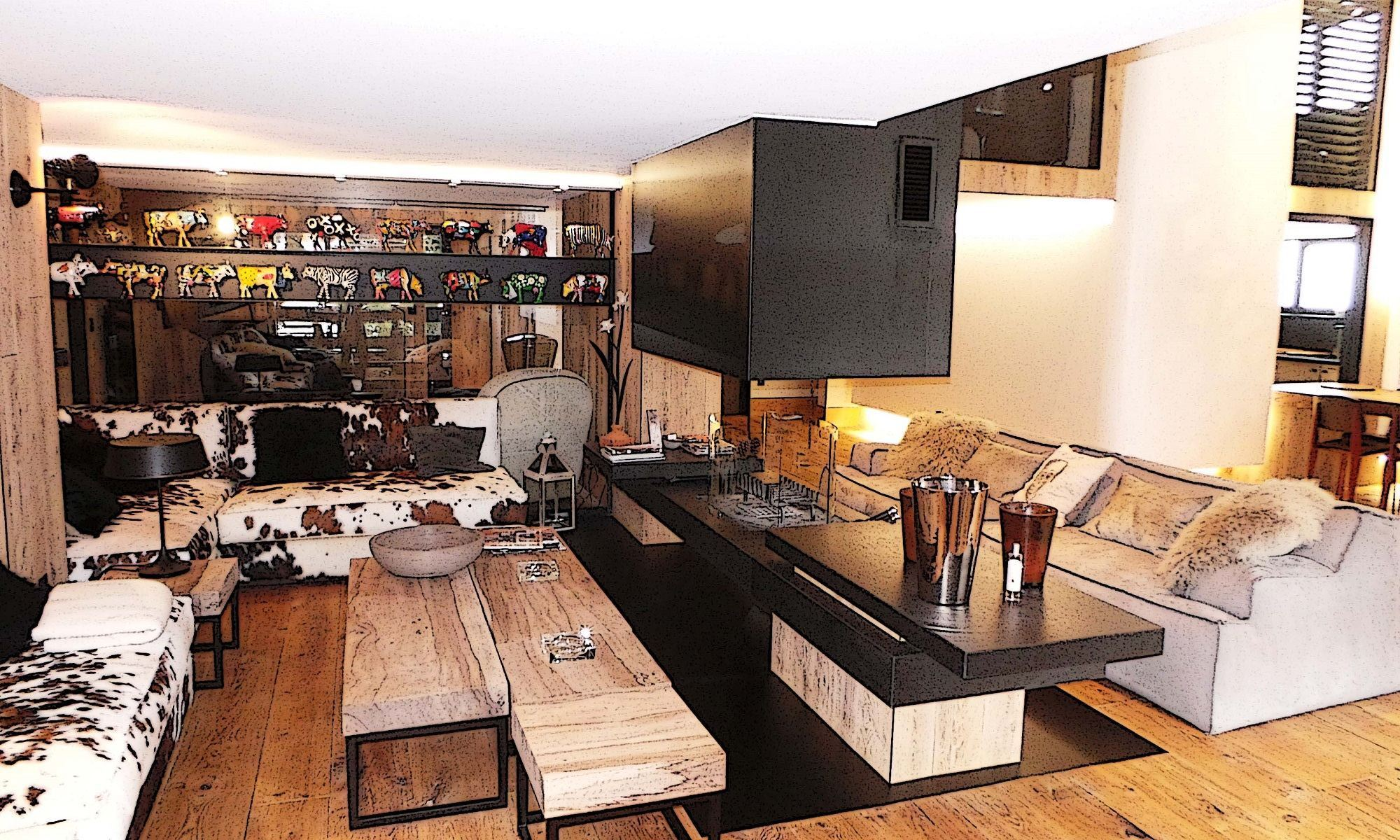 Property For Sale at Megève Apartment Comes