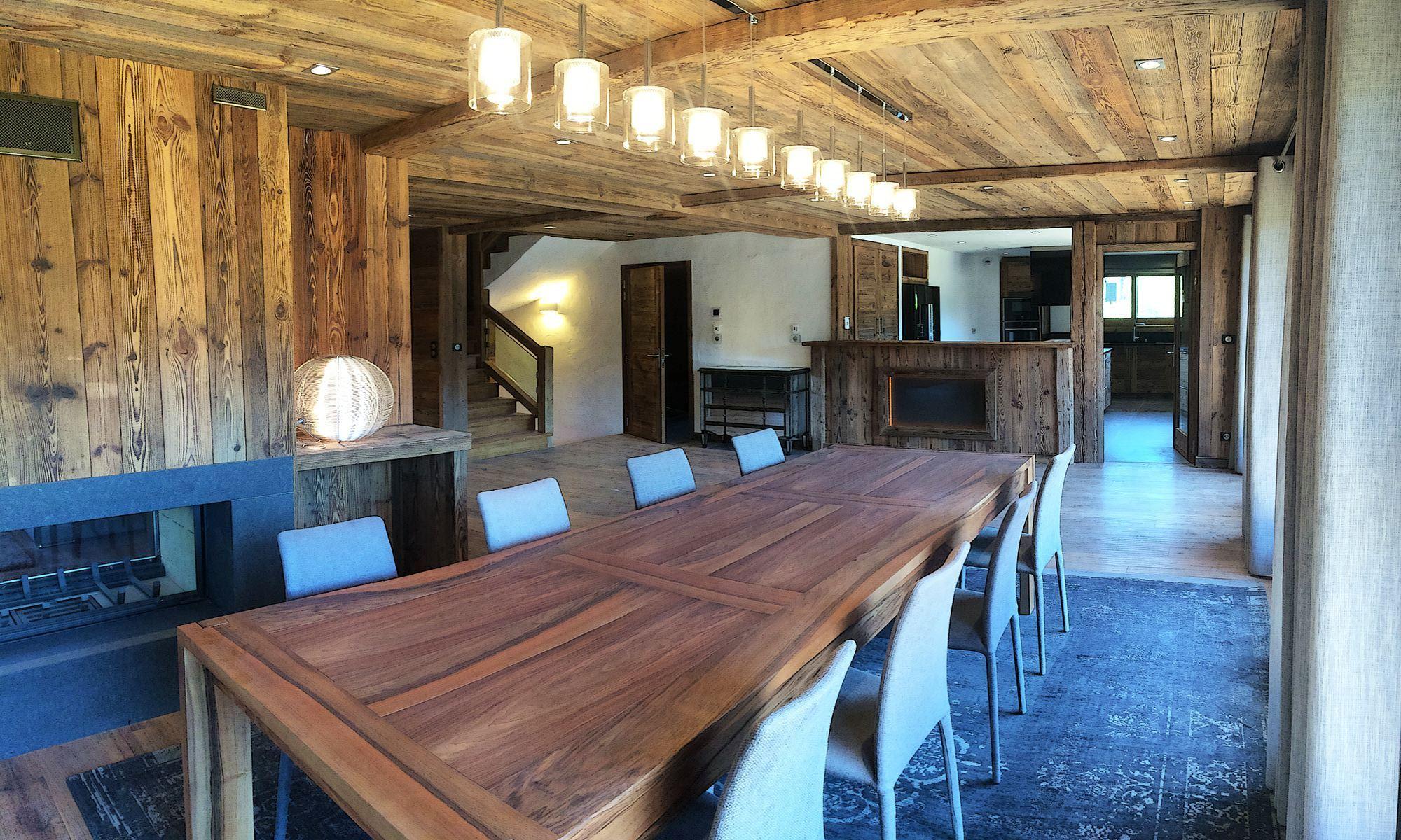 Property For Sale at Megève Village center Chalet Heliodore