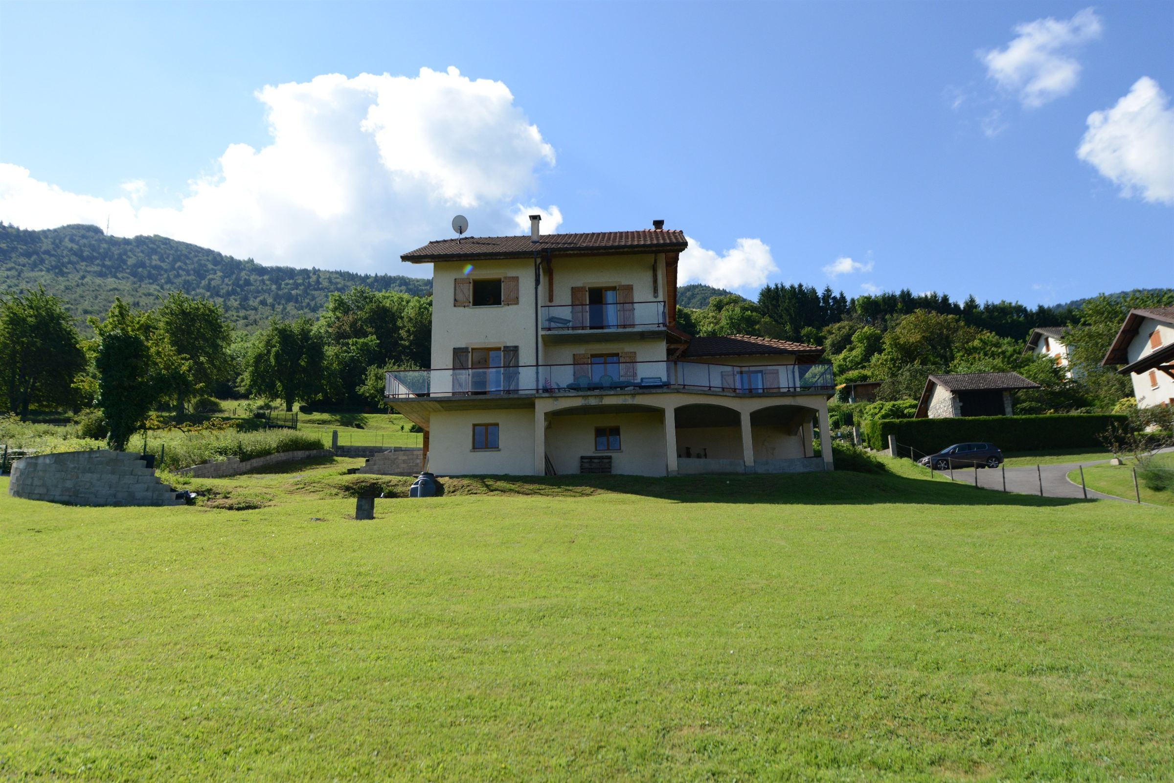 Single Family Home for Sale at LUGRIN NEAR EVIAN HOUSE WITH LAKE VIEW Lugrin, Rhone-Alpes, 74500 France