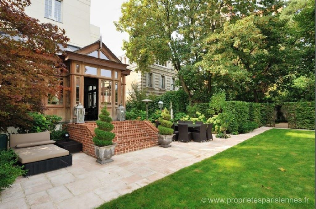 sales property at Boulogne - Renovated house with garden near Paris