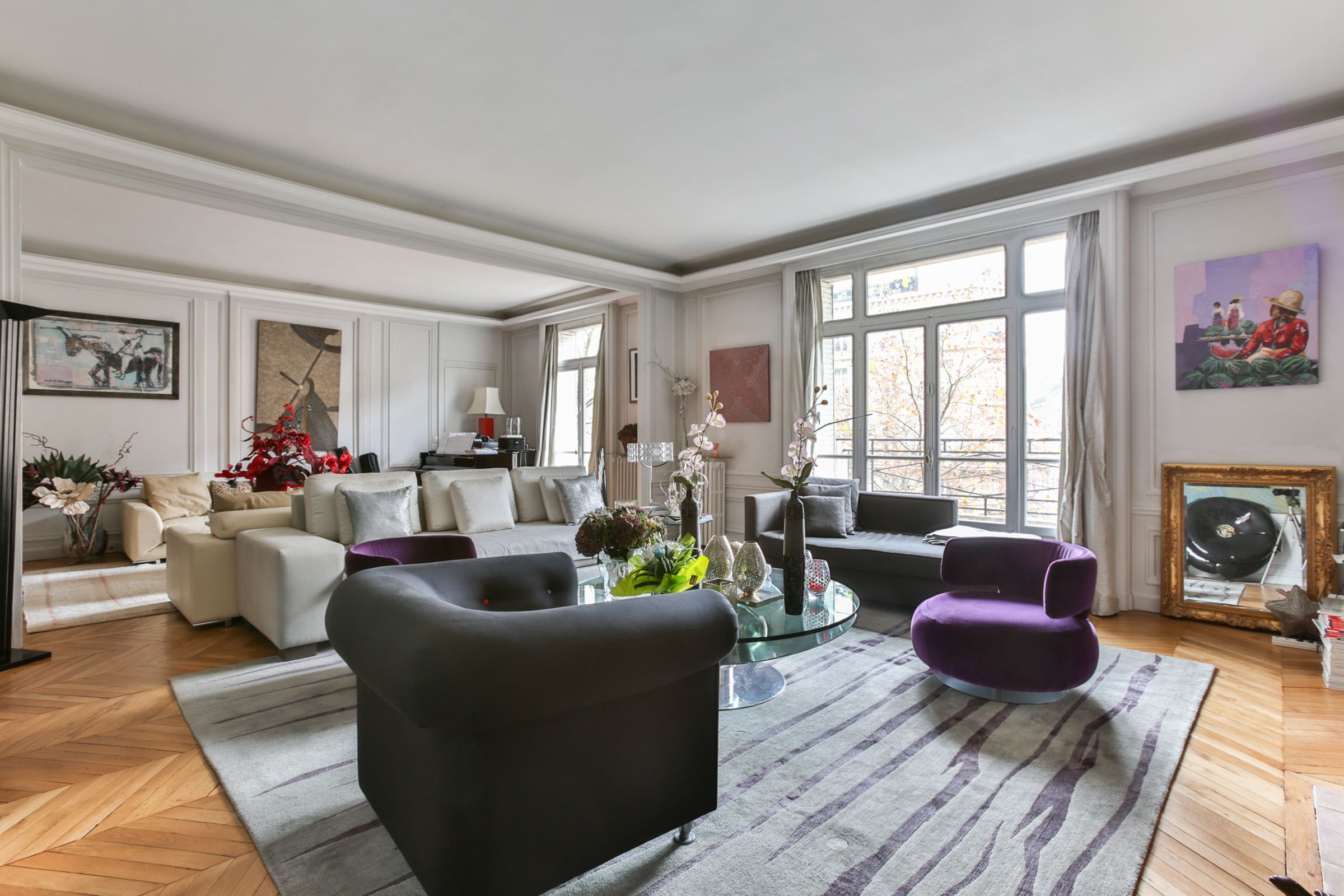 公寓 為 出售 在 Paris 8 - Ternes Monceau - A 7 rooms apartment, lots of charm. Paris, 巴黎, 75008 法國
