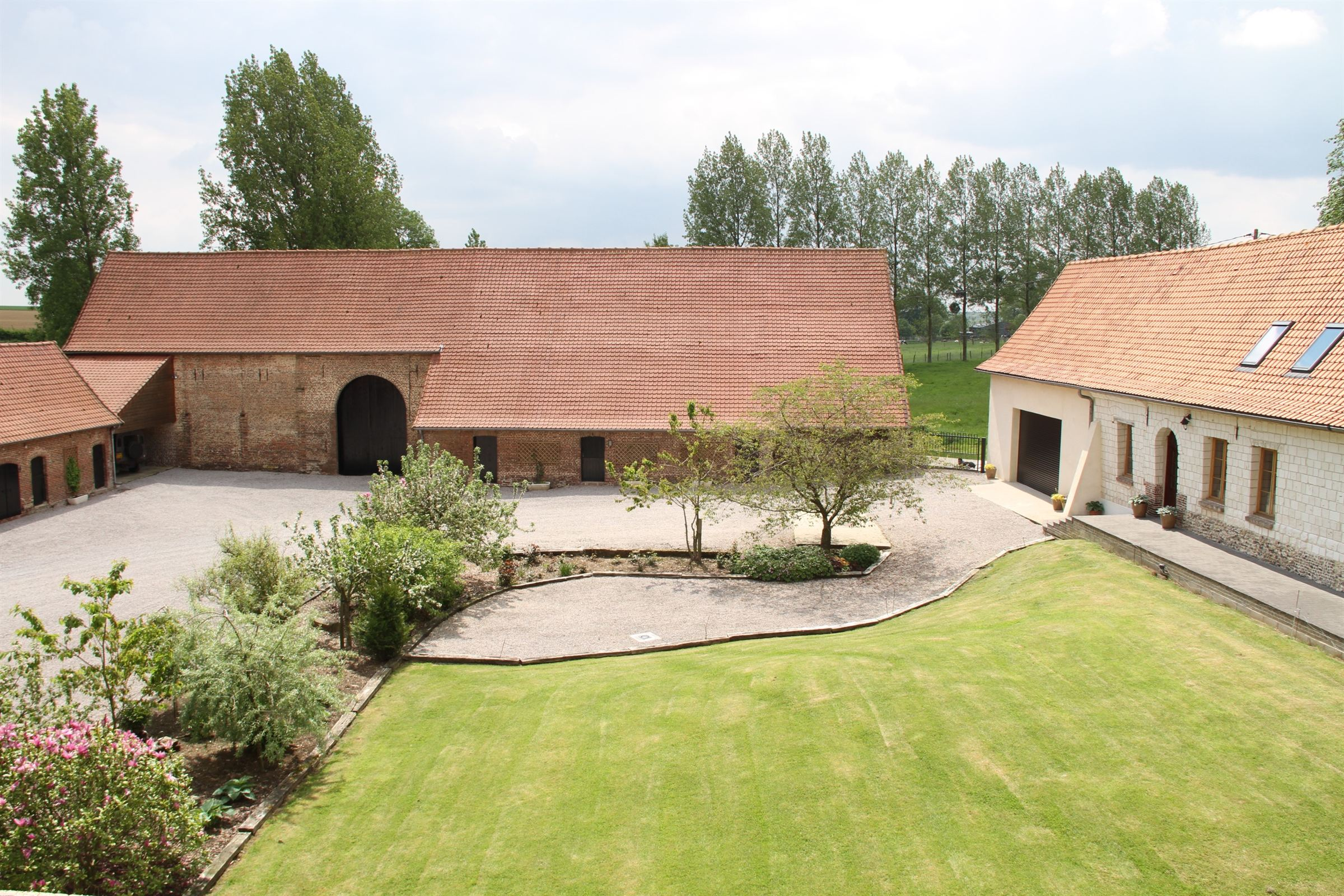 Property For Sale at Hesdin Country, Farmhouse restored on 2Ha.