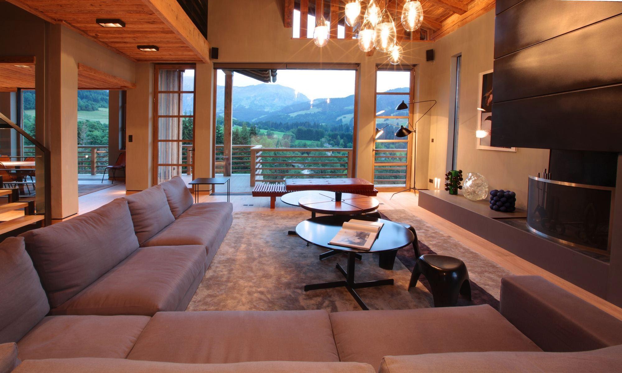 Property For Sale at Megève Mont d'Arbois Chalet Ciel
