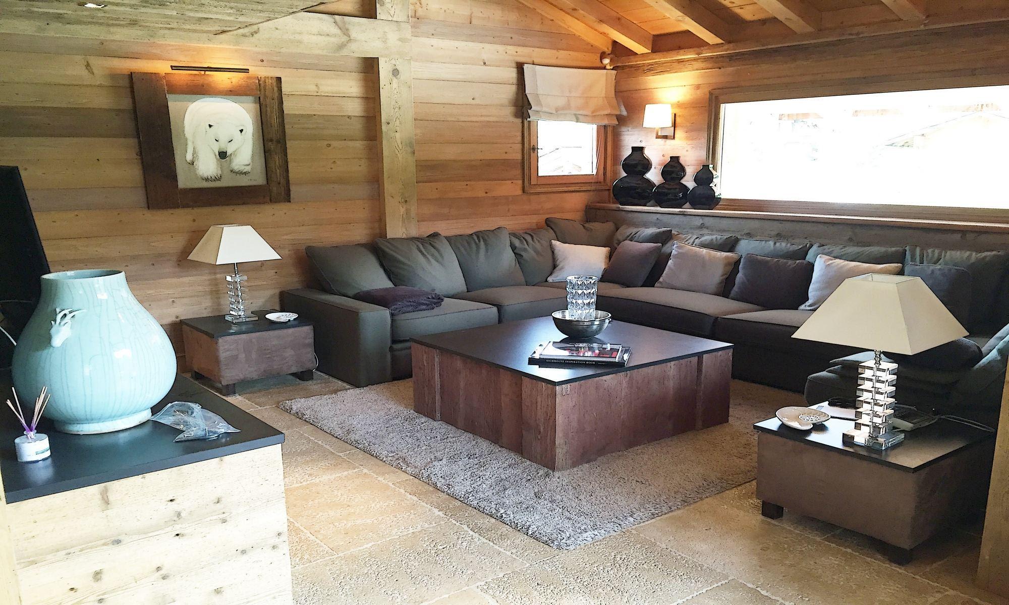 Property For Sale at Mont d'Arbois Megève Chalet Everest