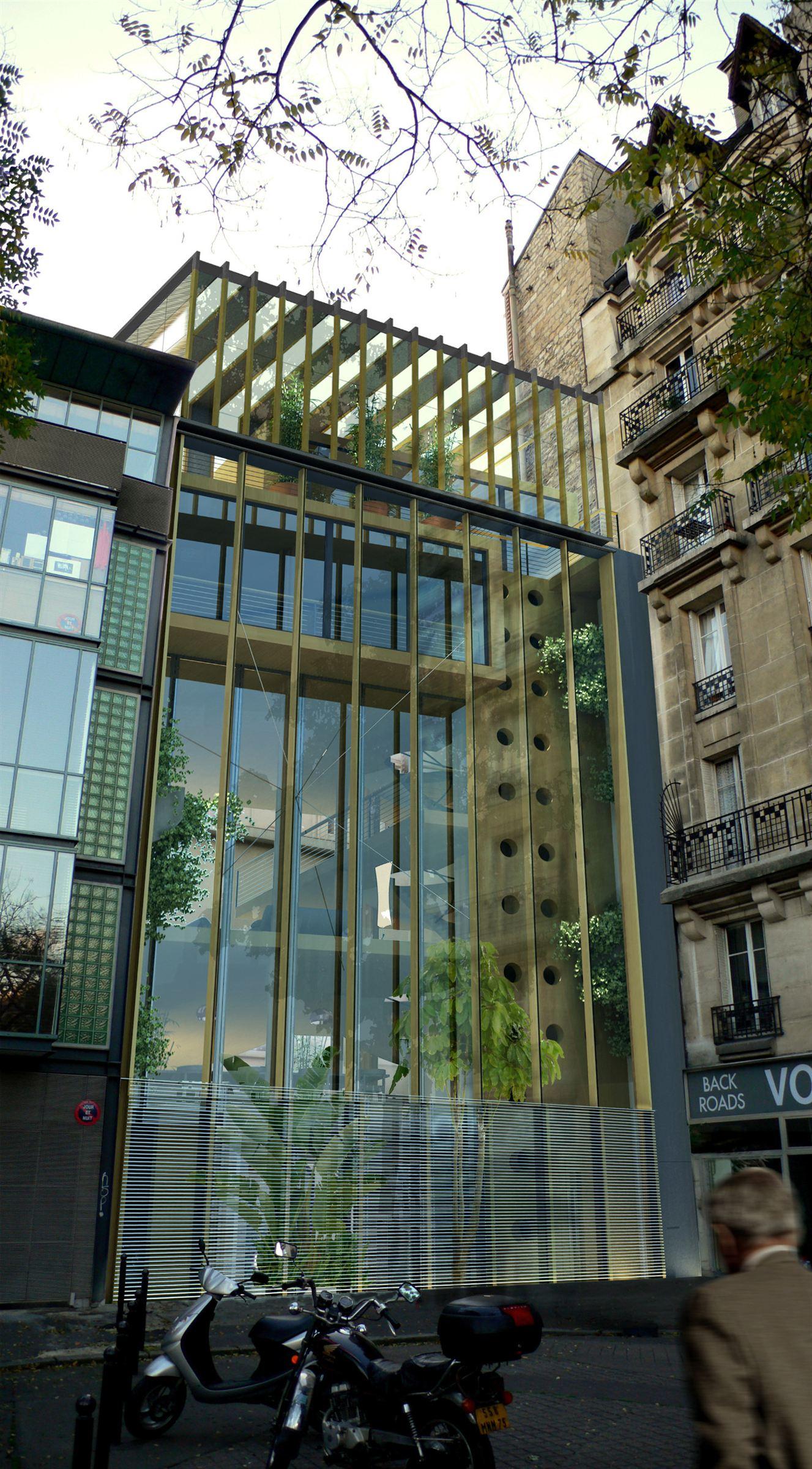 Einfamilienhaus für Verkauf beim Exceptional HQE Eco-Home Paris 14e Paris, Ile-De-France, 75014 Frankreich