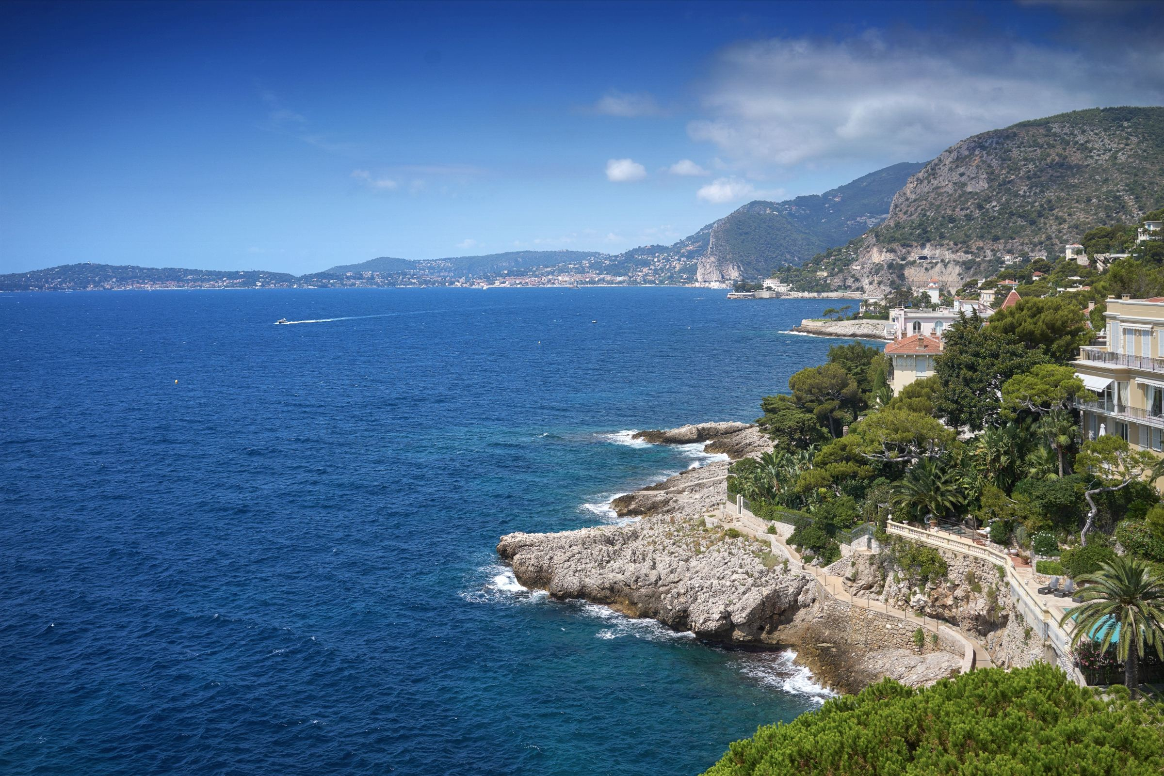 sales property at Water's edge villa in Cap d'Ail