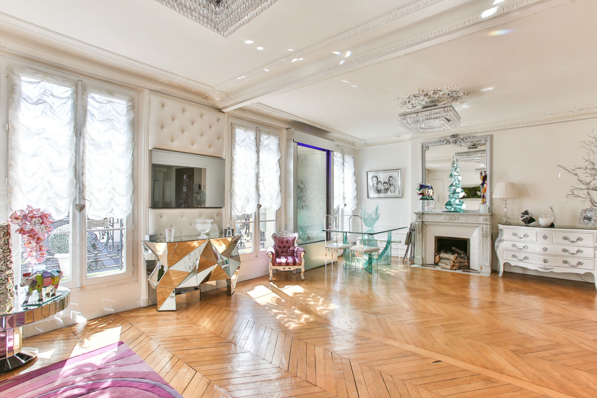 아파트 용 매매 에 Paris 17 - Marché des Ternes. A 115 sq.m apartment, fully renovated, very sunny Paris, 파리 75017 프랑스