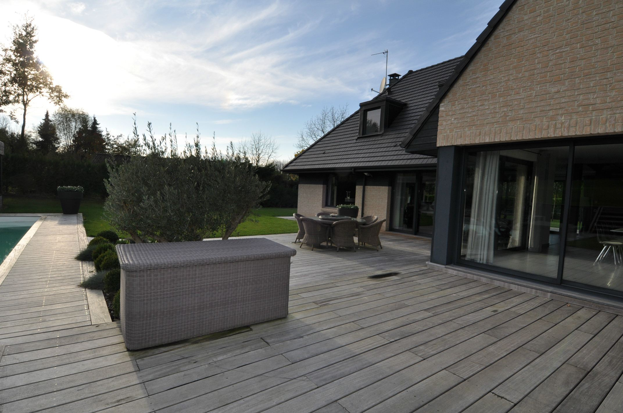 Property For Sale at THE HEART OF WEPPES, contemporary family villa 350 m2. 5 beds. Pool