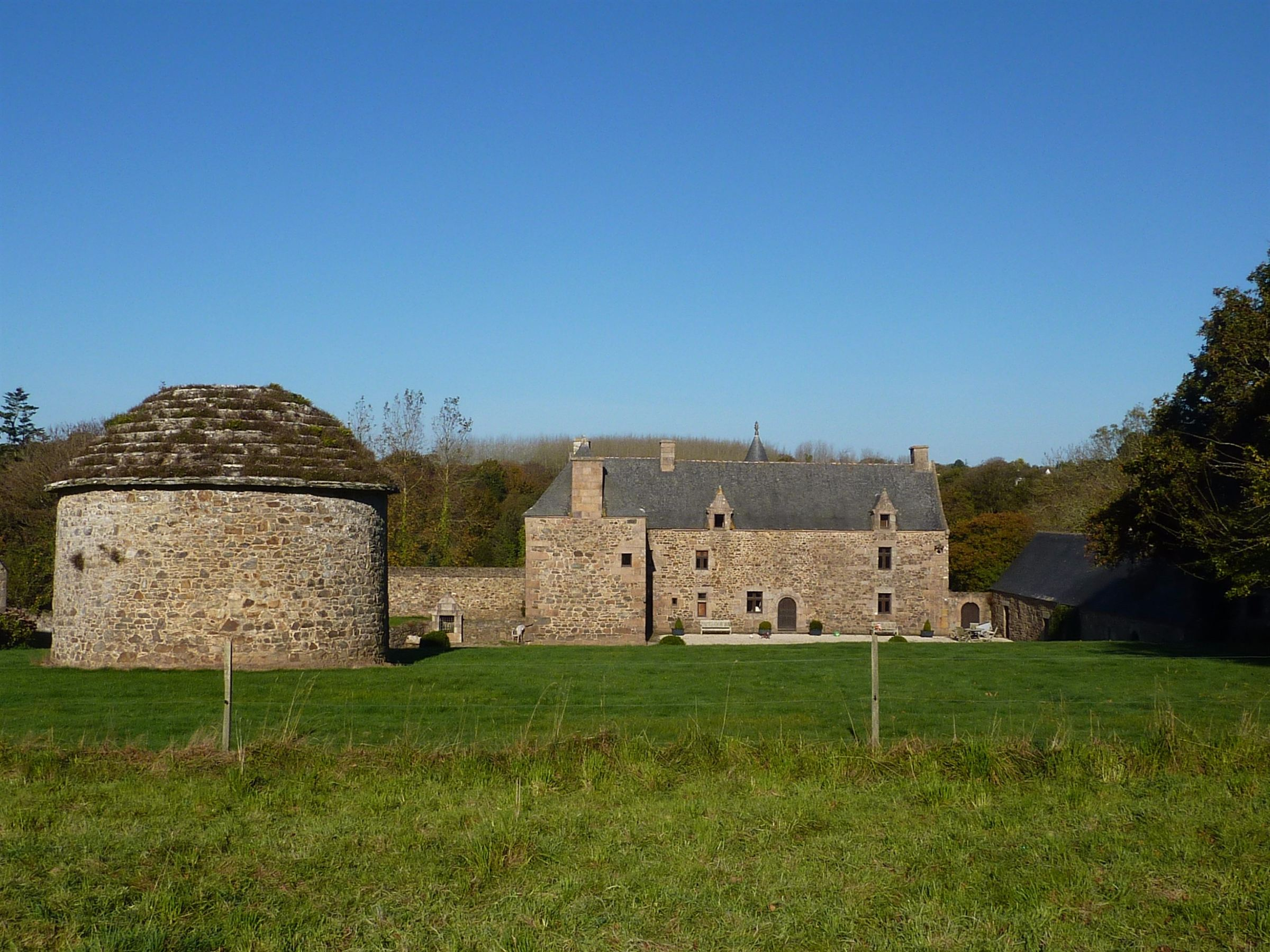 sales property at Listed Manor for sale in Brittany set on 135 acres near the coast