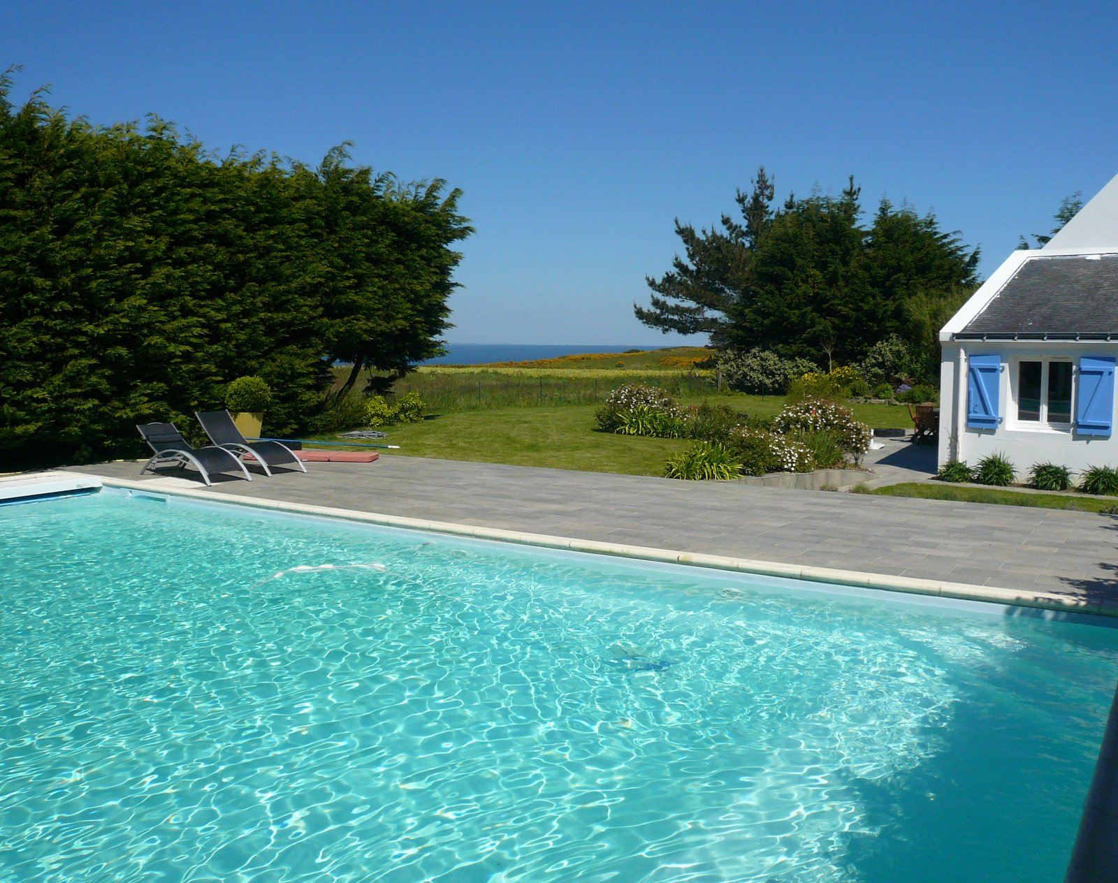sales property at South Brittany, Belle-Ile, quiet sea view for this 6 bedrooms home...