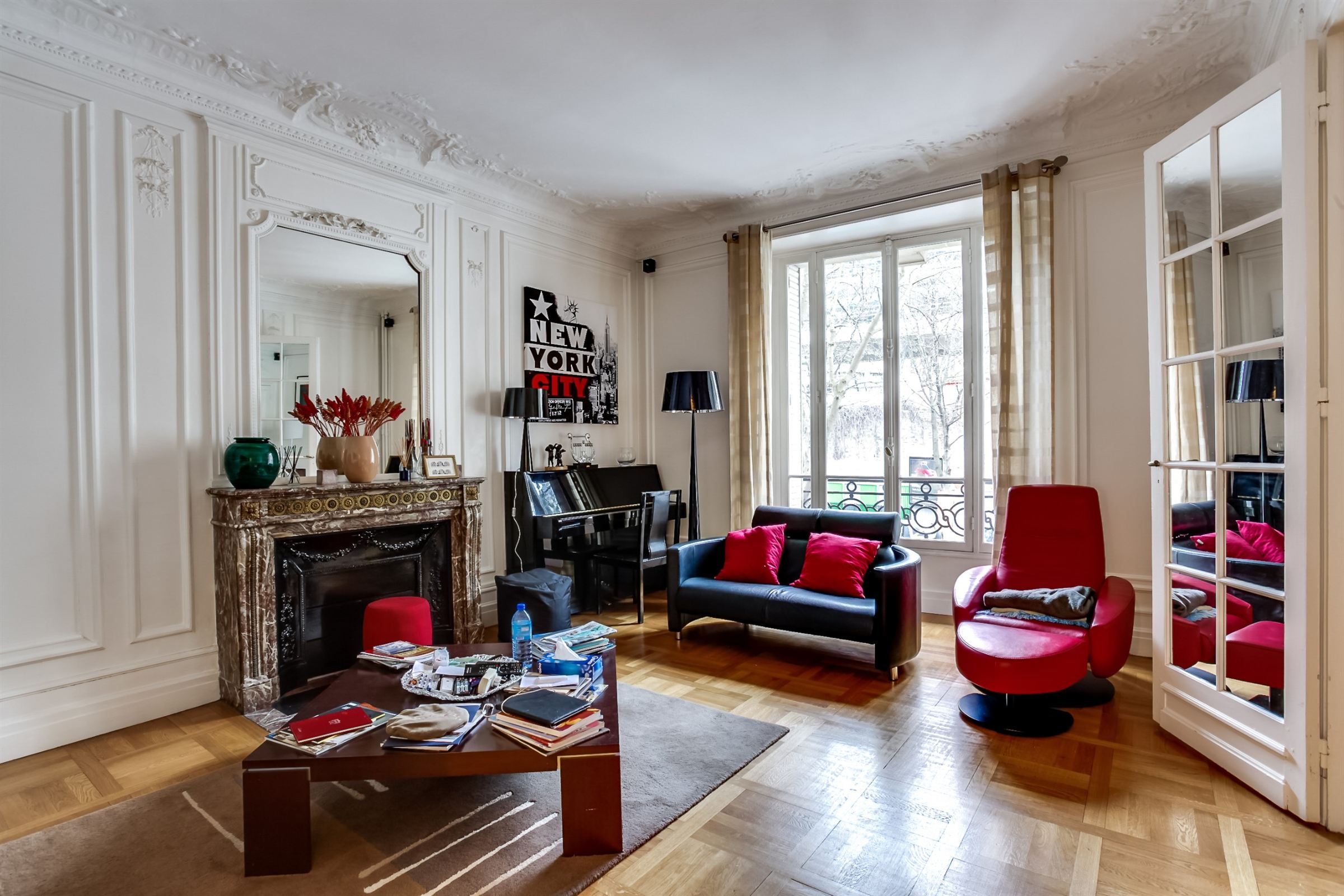 Appartement pour l Vente à Paris 16 - Trocadero. A reception/family apartment. Paris, Paris 75116 France
