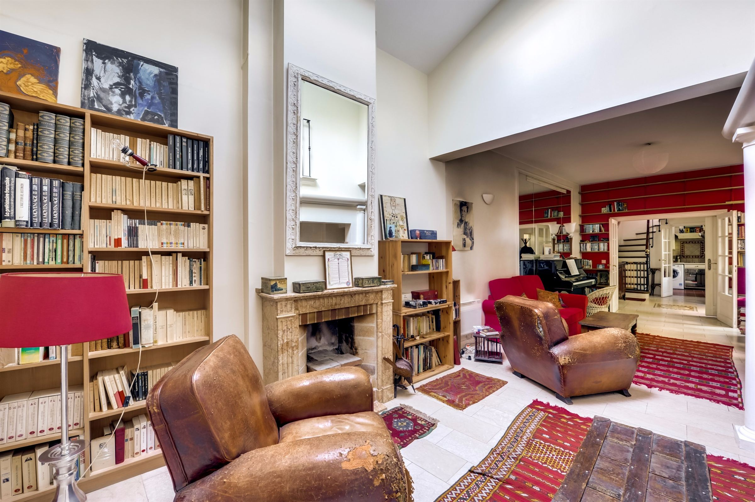 sales property at Charming town house for sale in Paris 14 - rue Daguerre, 5 bedrooms