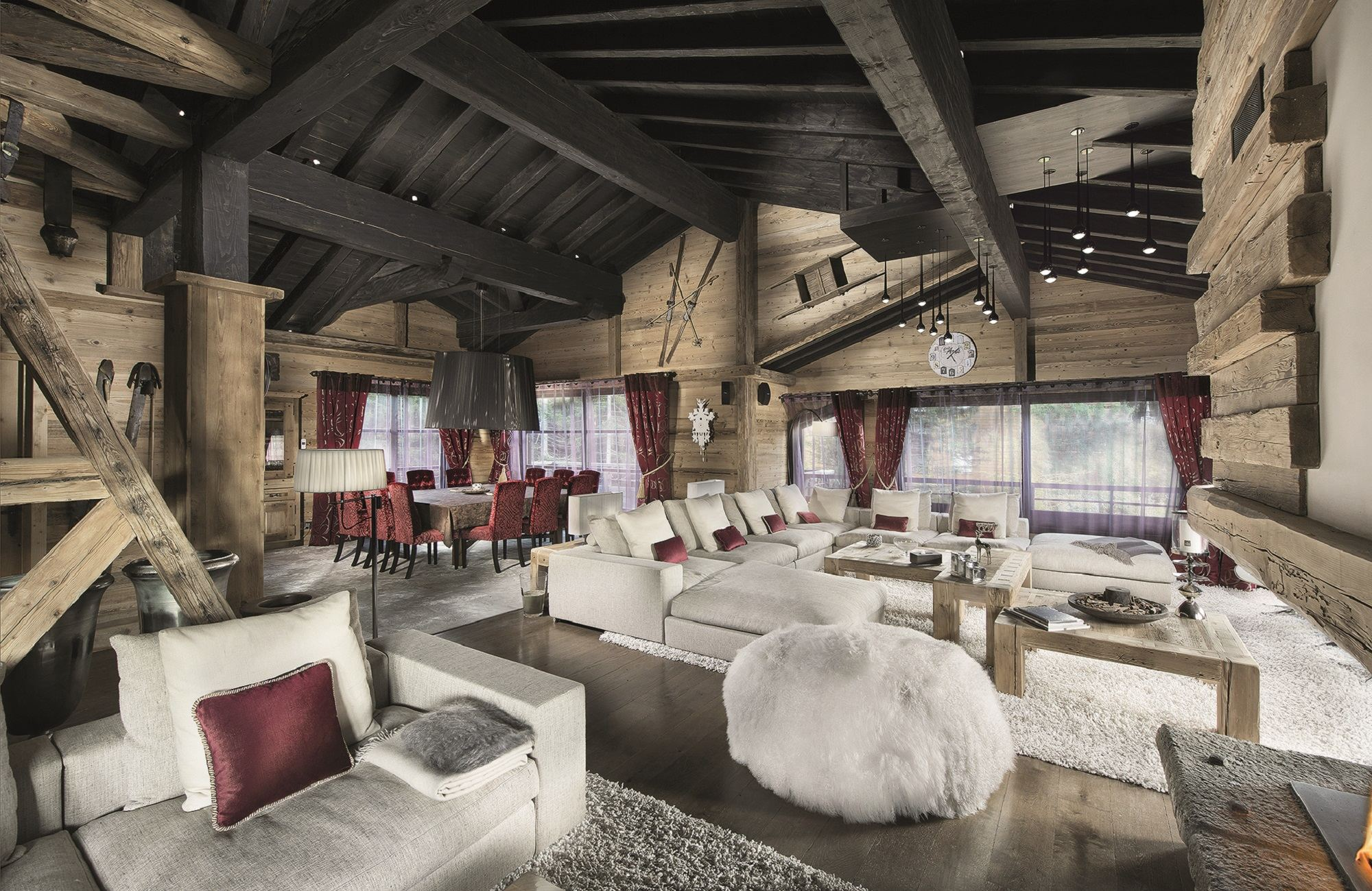Maison unifamiliale pour l Vente à Luxury Chalet Courchevel Courchevel, Rhone-Alpes, 73120 France