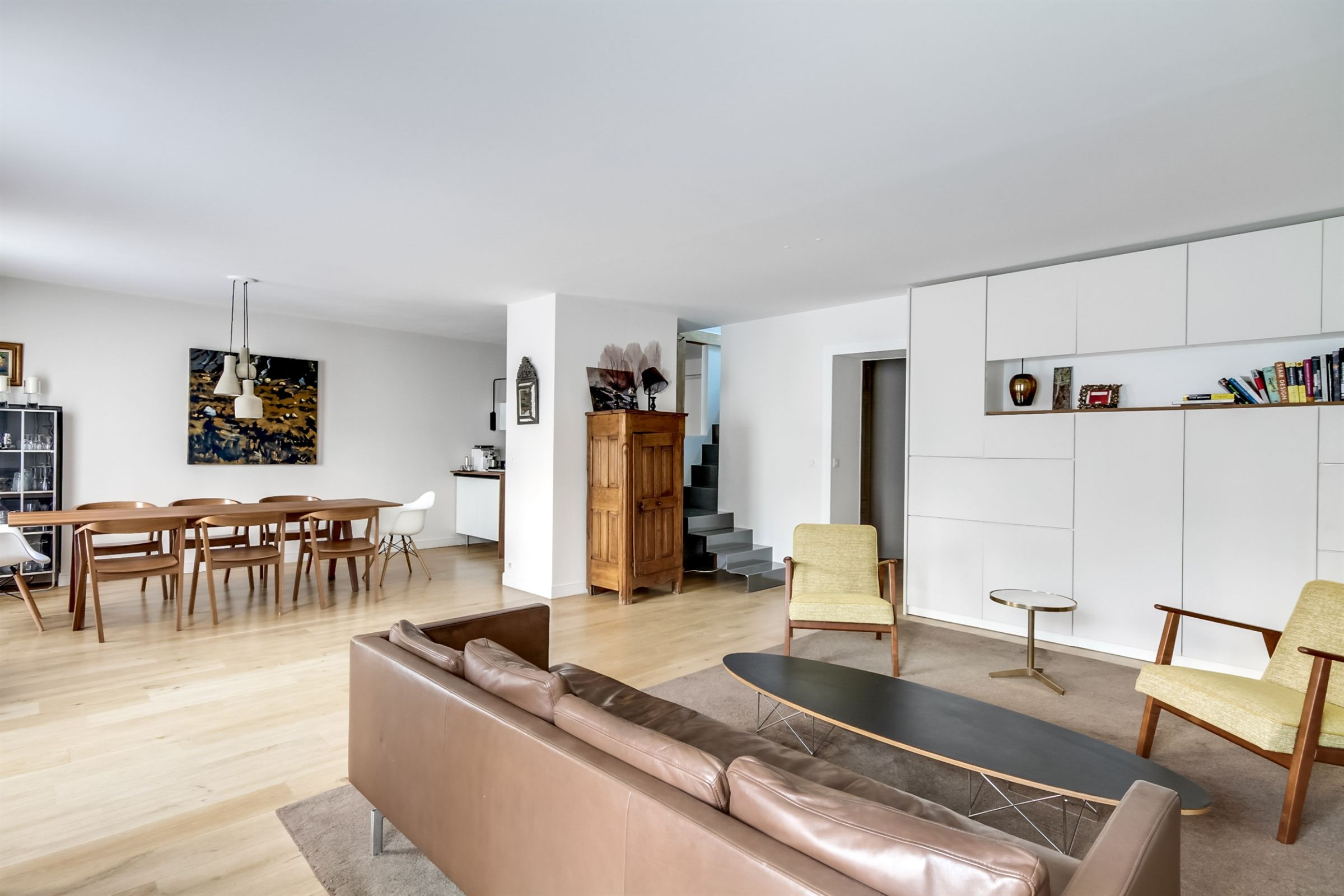 Property For Sale at Paris 9 - Apartment- Refursbished by an architect.