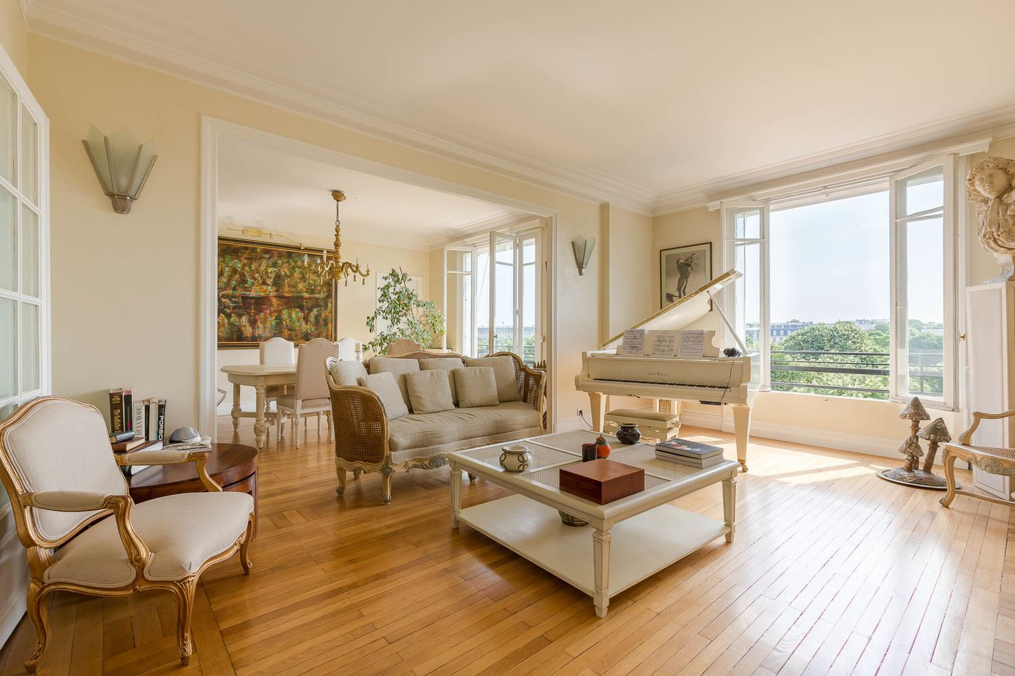 Property For Sale at Apartment open view Invalides