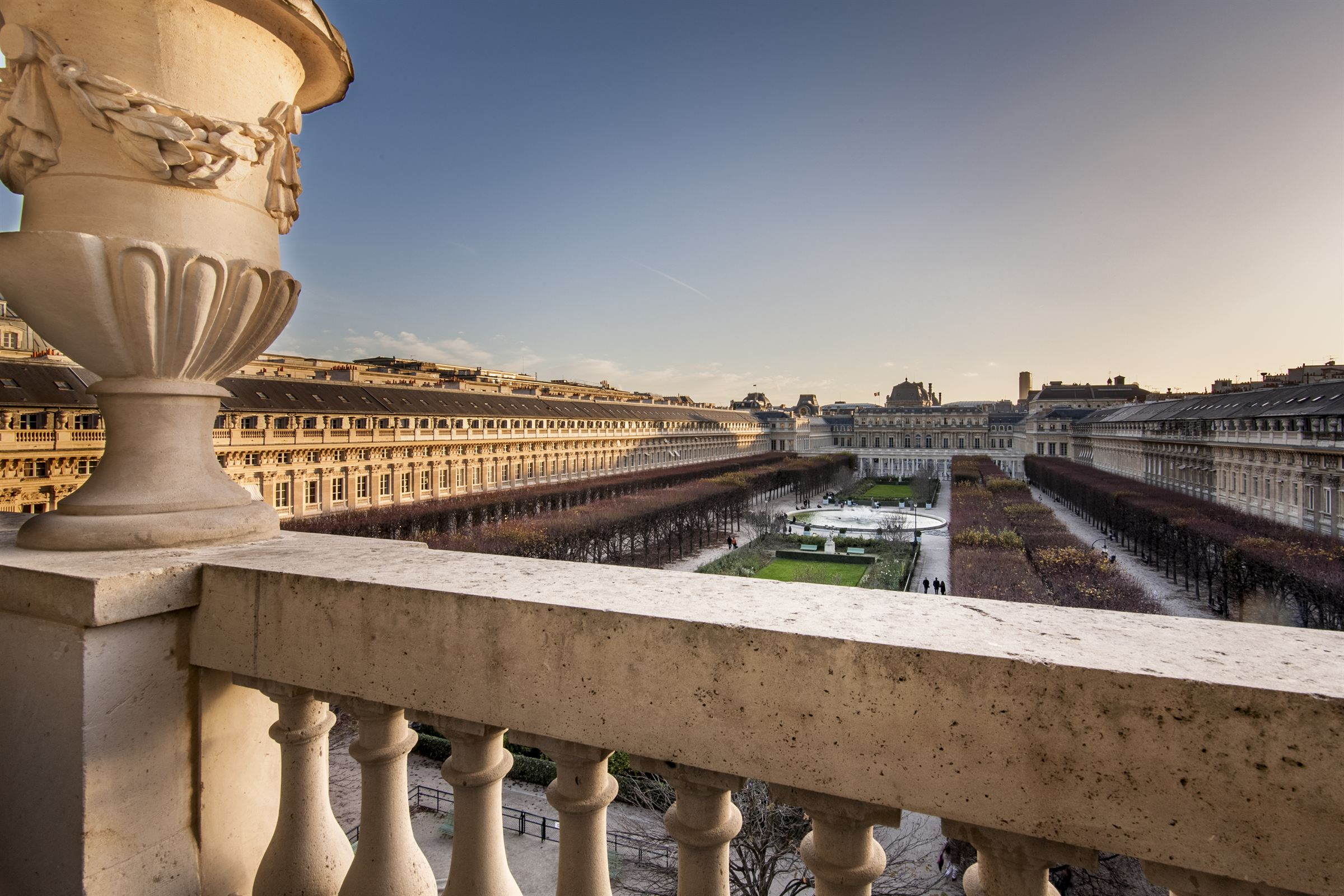 sales property at Exceptional views over the Palais Royal Gardens