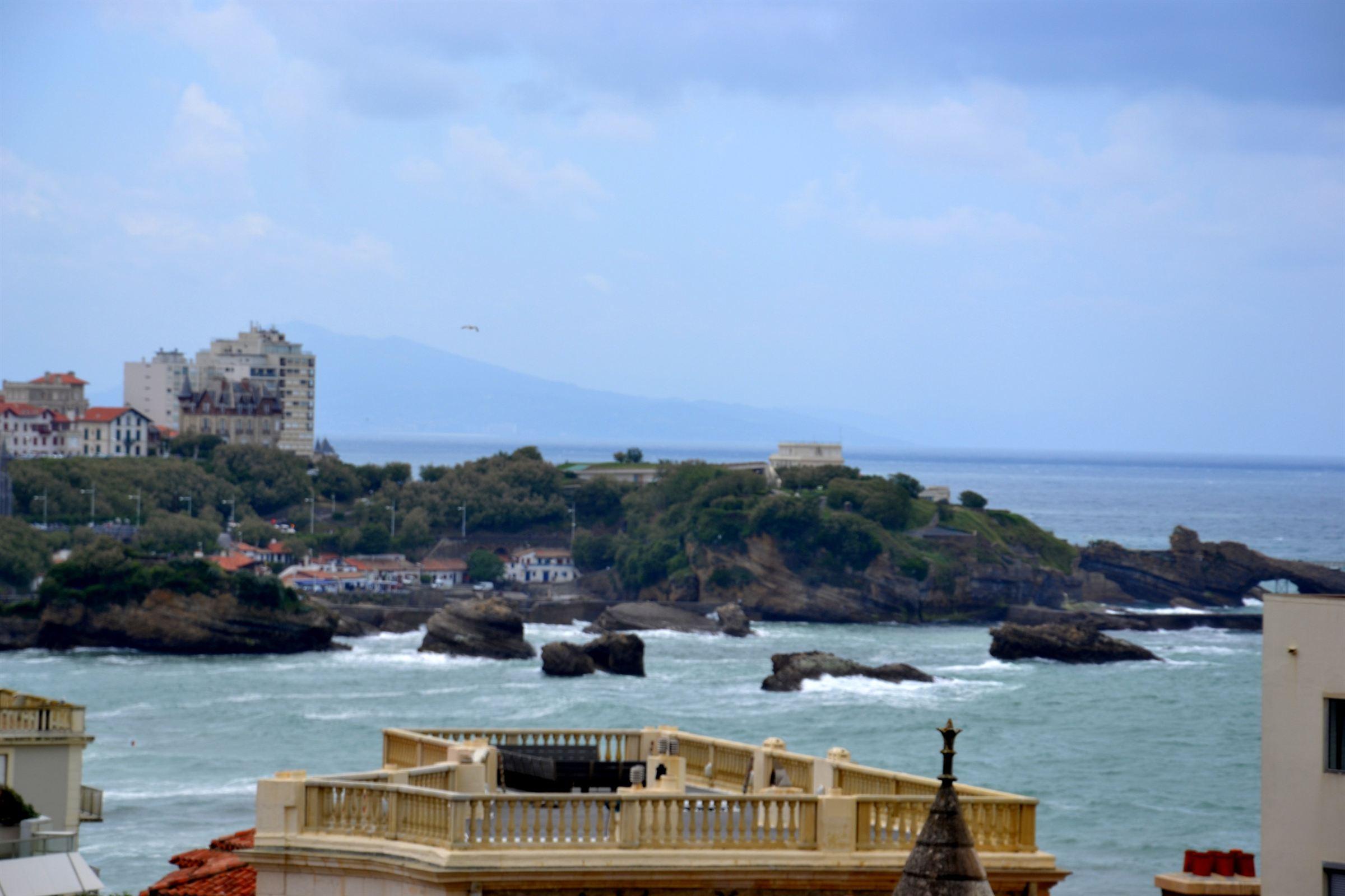 公寓 为 销售 在 BIARRITZ MIRAMAR VUE MER Biarritz, 阿基坦, 64200 法国