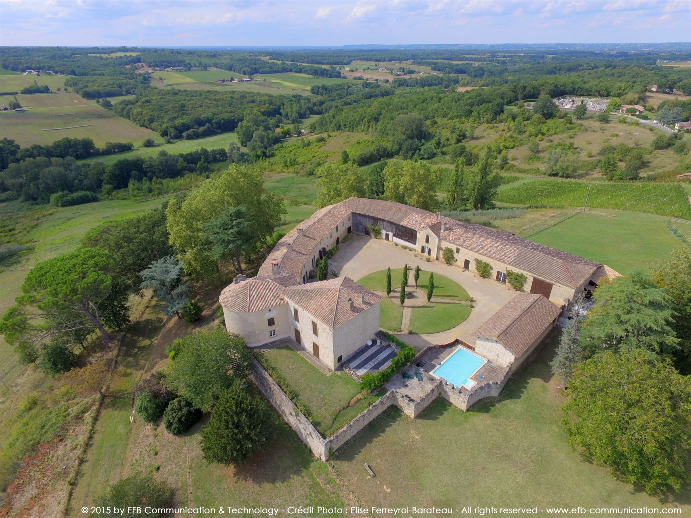 sales property at 40MN SOUTH OF BORDEAUX - STUNNING HISTORICAL CASTLE IN SAUTERNES
