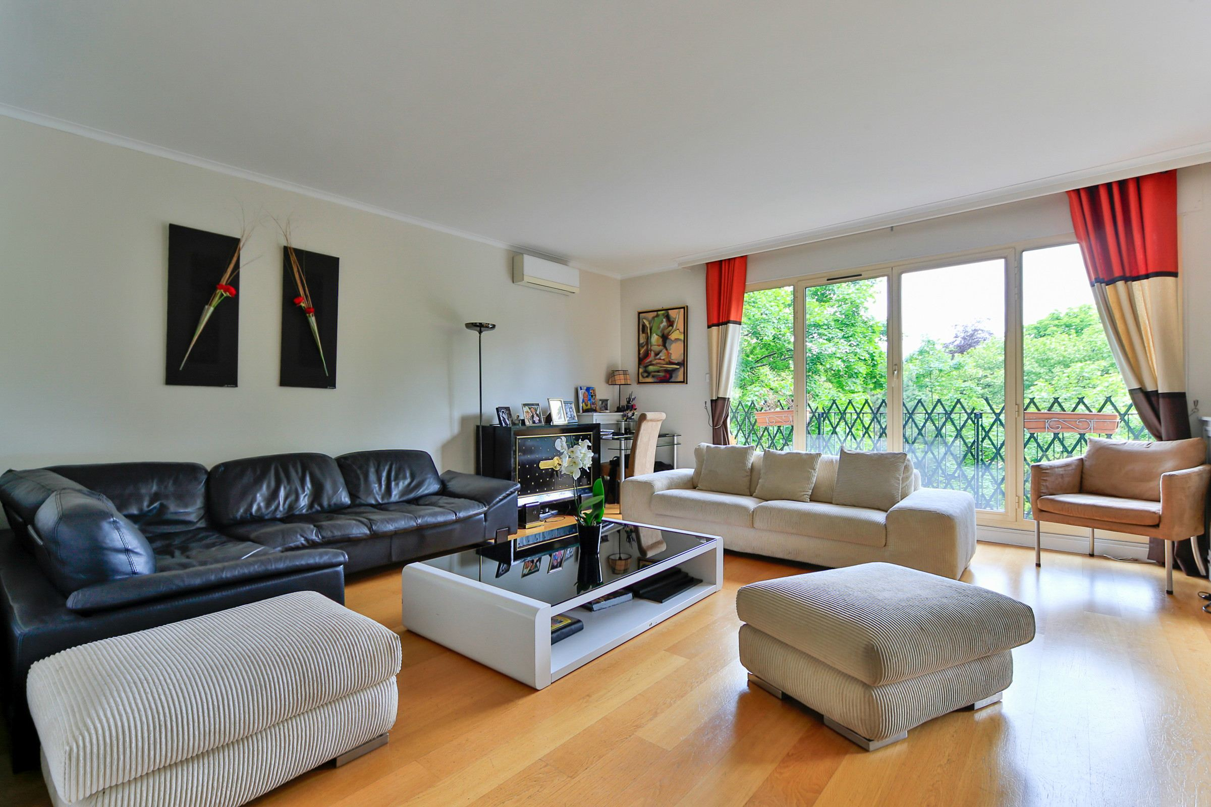 Property For Sale at Neuilly - Chateau. Apartment with a balcony