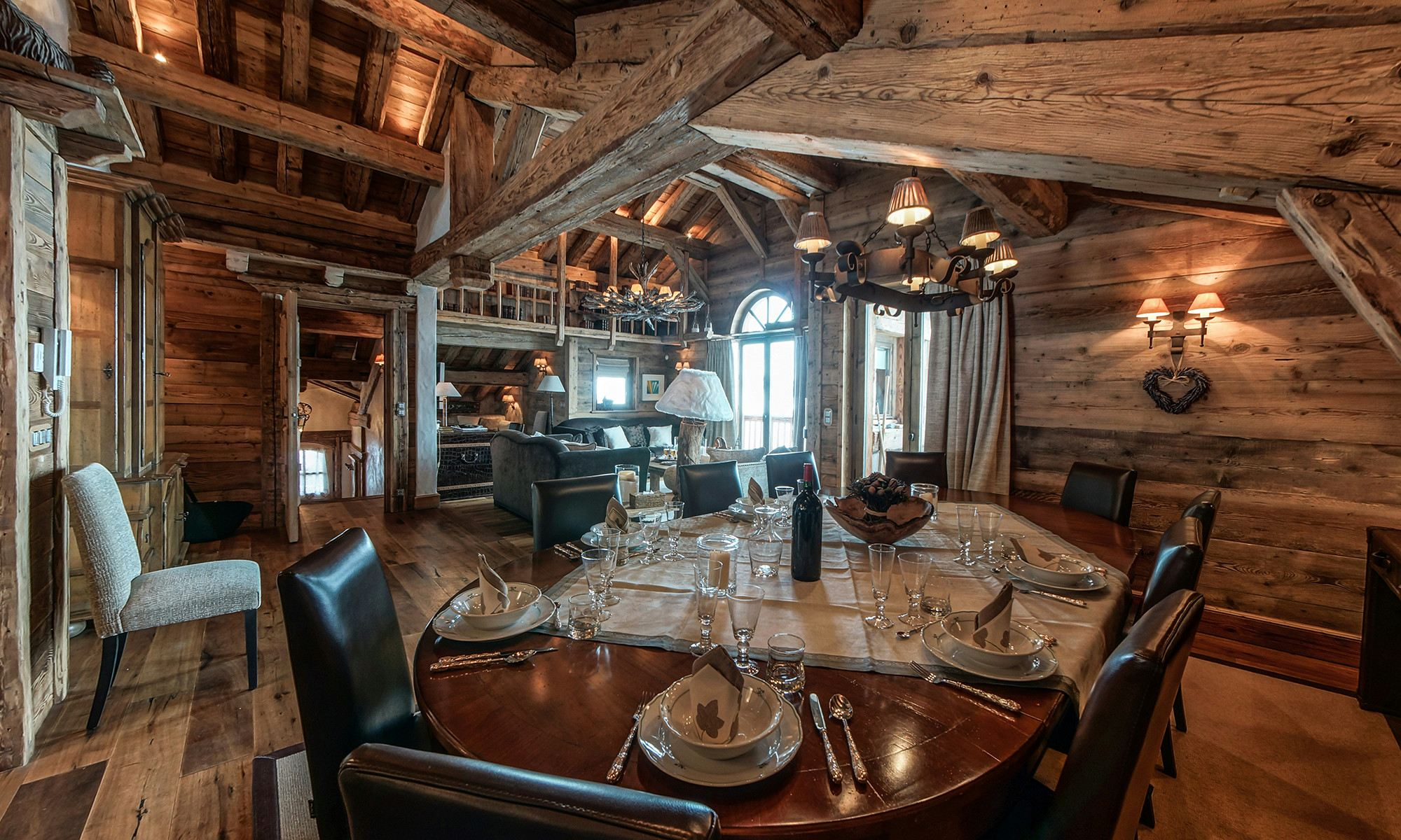 Property Of Chalet for rent Courchevel Les 3 Soeurs